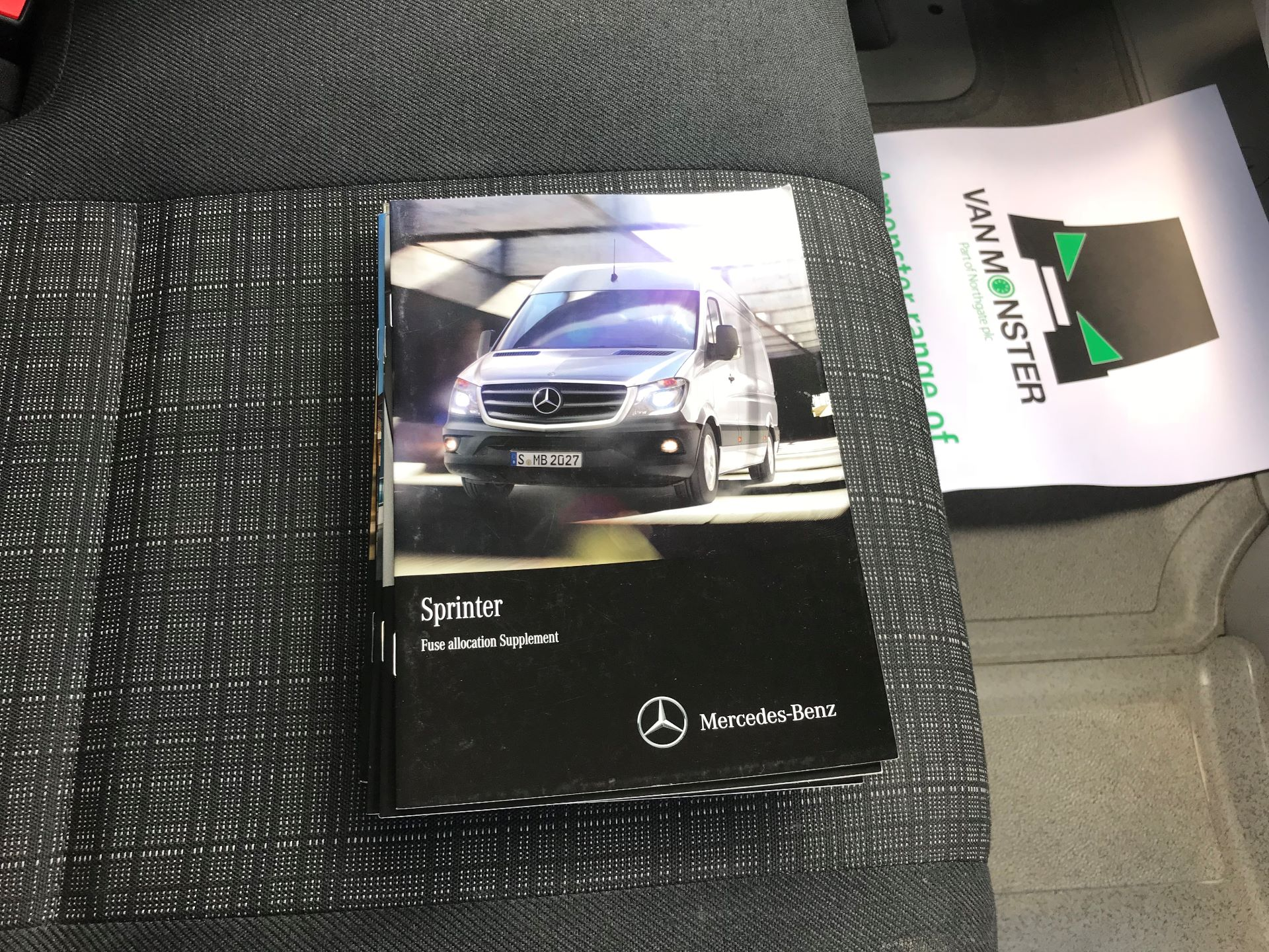 2016 Mercedes-Benz Sprinter  314 LWB H/R VAN EURO 6 (KW66FGD) Image 27
