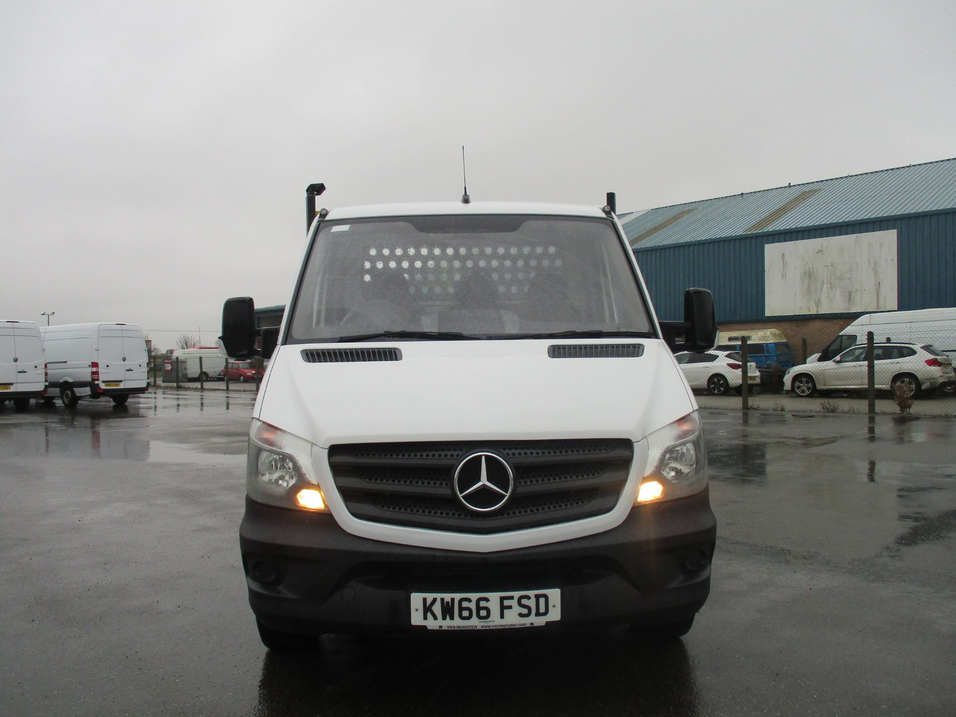 2016 Mercedes-Benz Sprinter 314 LWB DROP SIDE EURO 6 (KW66FSD) Image 2
