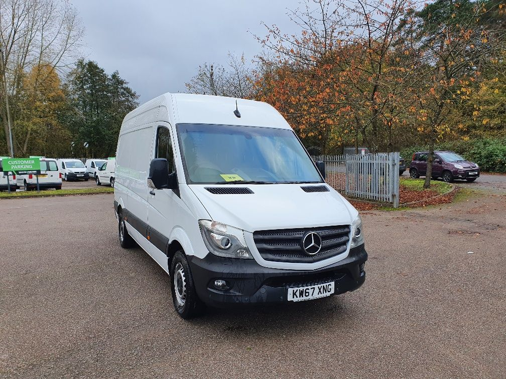 2018 Mercedes-Benz Sprinter 2.2 314 134PS 3.5T High Roof Van EURO 6 (KW67XNG)