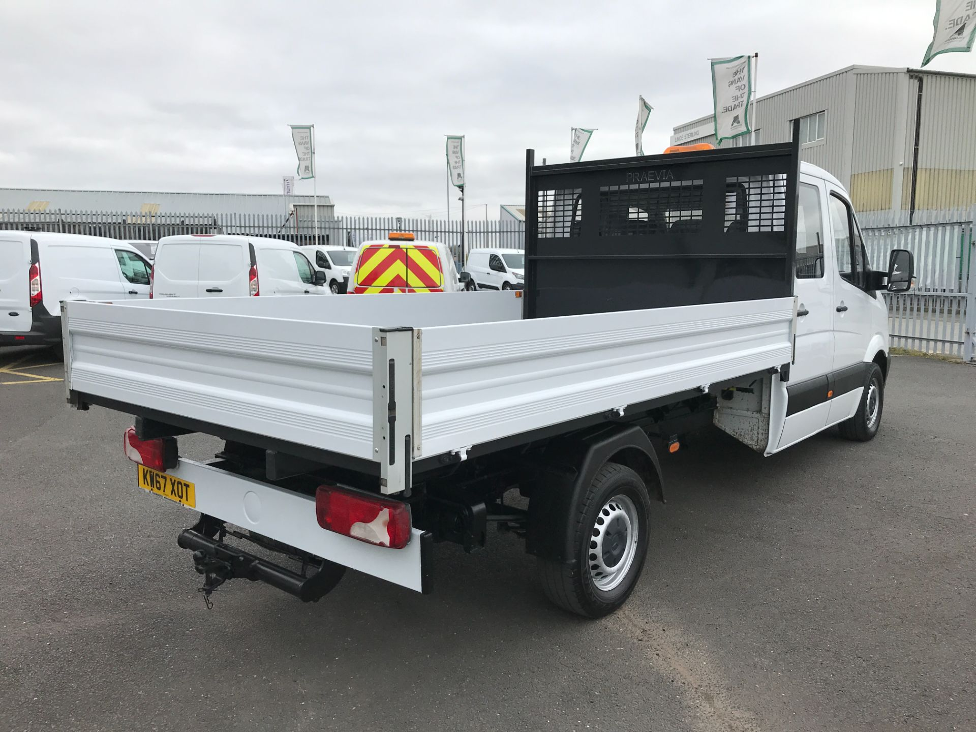 2018 Mercedes-Benz Sprinter 314CDI DOUBLE CAB TIPPER 140PS EURO 6 (KW67XOT) Image 8