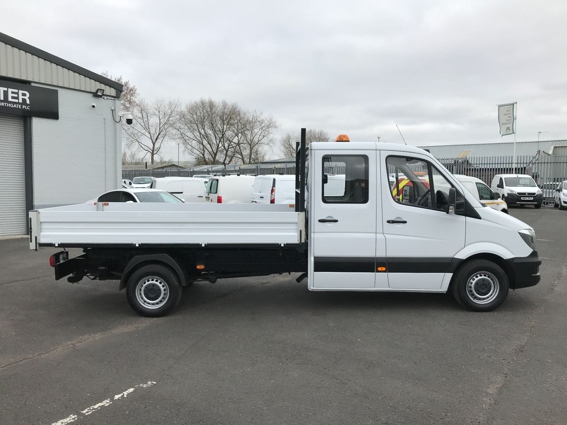 2018 Mercedes-Benz Sprinter 314CDI DOUBLE CAB TIPPER 140PS EURO 6 (KW67XOT) Image 7