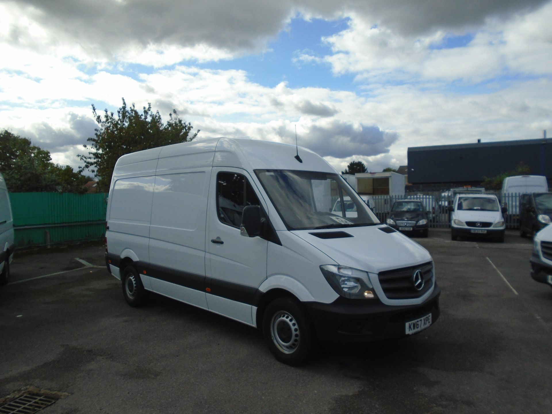 2018 Mercedes-Benz Sprinter 3.5T High Roof Van(EURO 6) (KW67XPE)
