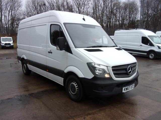 2018 Mercedes-Benz Sprinter 314CDi MWB  High Roof Van (KW67XTZ)