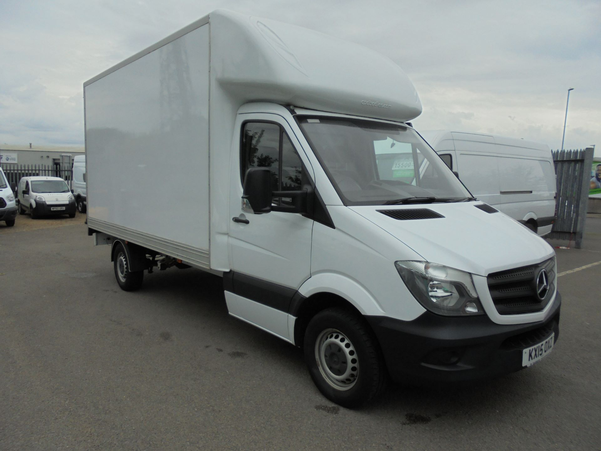 2015 Mercedes-Benz Sprinter 313 LWB LONG LUTON EURO 5 (KX15OXZ)