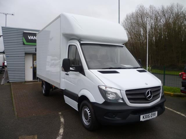 2015 Mercedes-Benz Sprinter 313 LWB LONG LUTON EURO 5 (KX15OYV)
