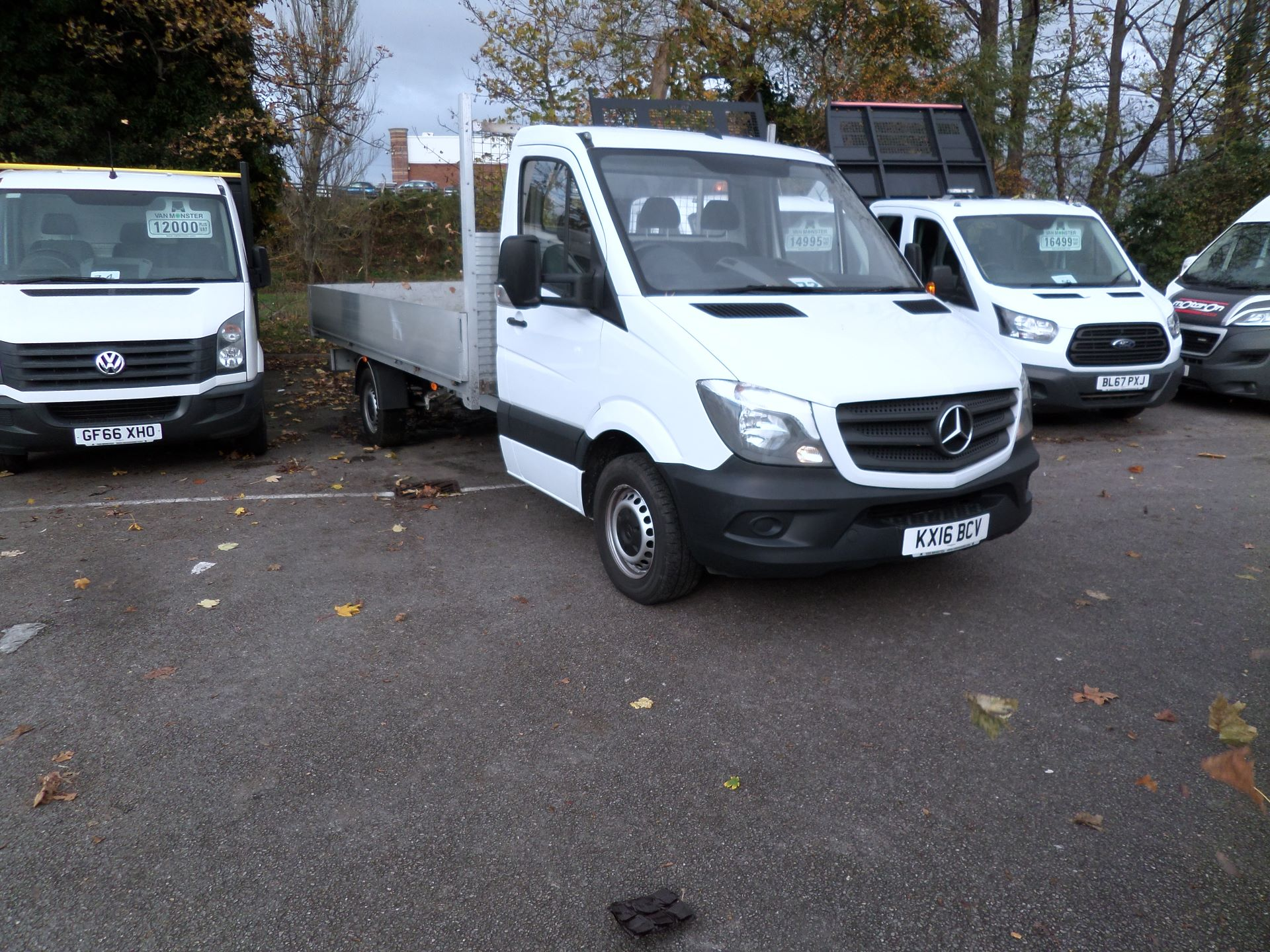 2016 Mercedes-Benz Sprinter 313 LWB DROP SIDE EURO 5 (KX16BCV)