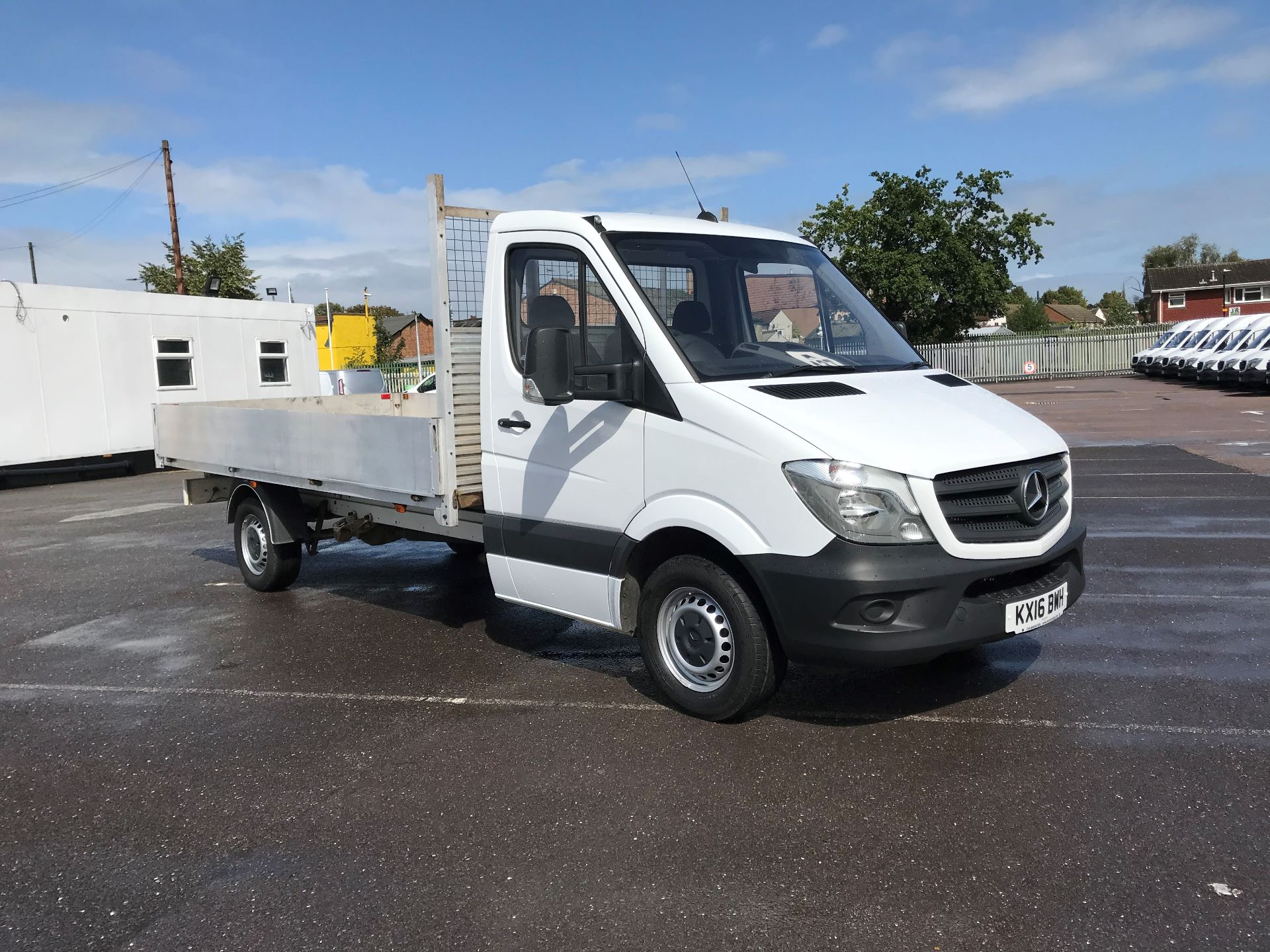 2016 Mercedes-Benz Sprinter  313 LWB DROP SIDE EURO 5  (KX16BWH)