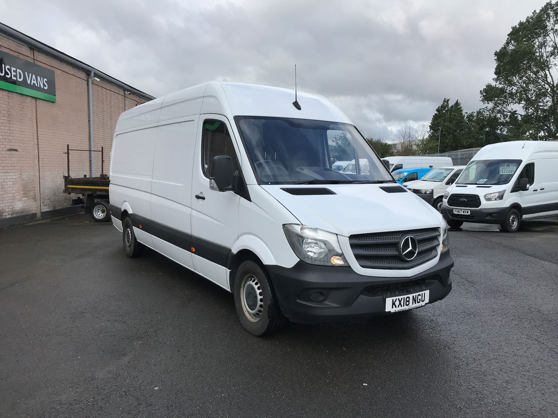 2018 Mercedes-Benz Sprinter 314CDI LWB HIGH ROOF 140PS EURO 6 (KX18NGU)