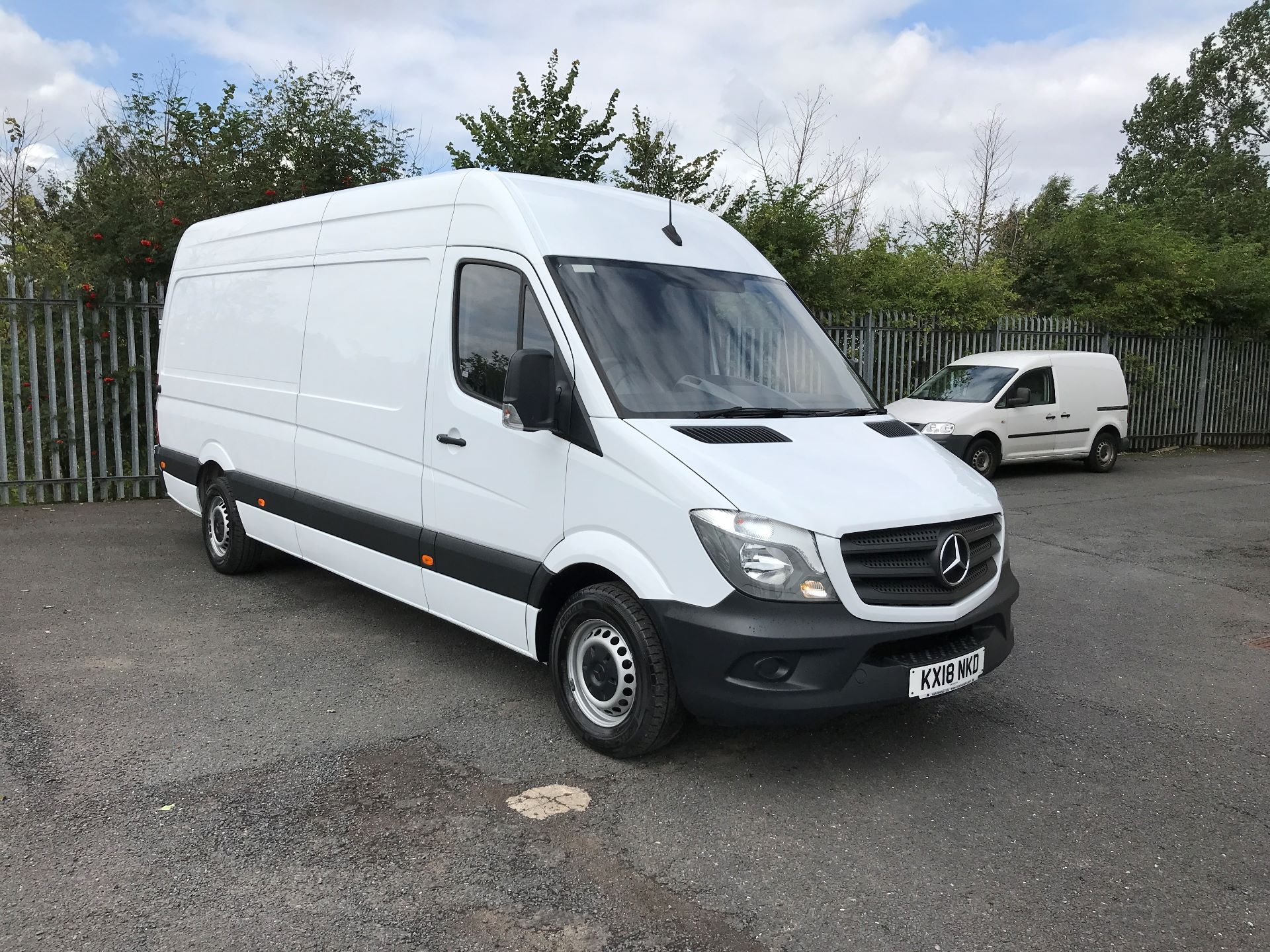 2018 Mercedes-Benz Sprinter 314CDI LWB HIGH ROOF 140PS EURO 6 (KX18NKD)