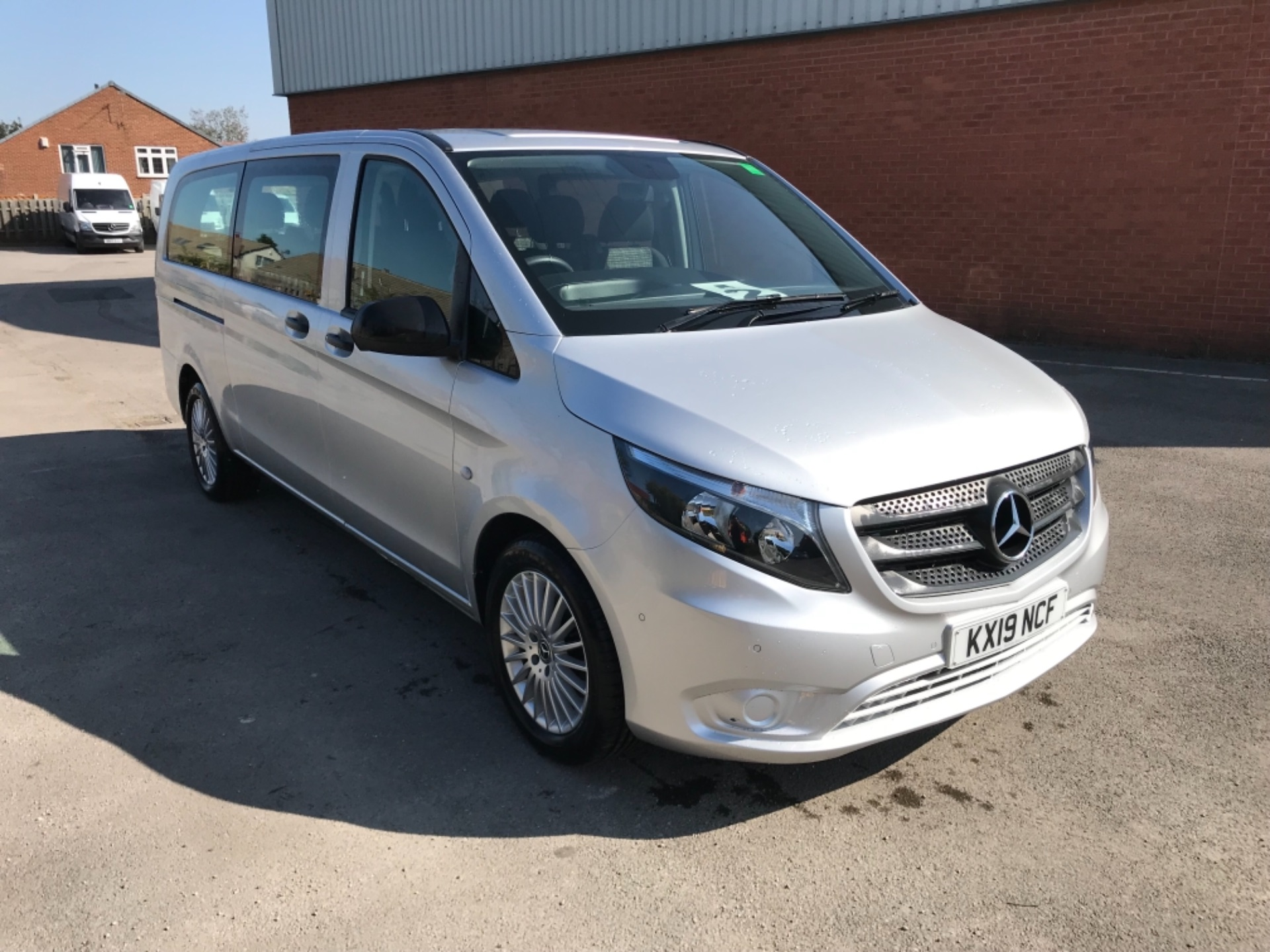 2019 Mercedes-Benz Vito 119 Cdi Select 8-Seater 7G-Tronic (KX19NCF) Image 1