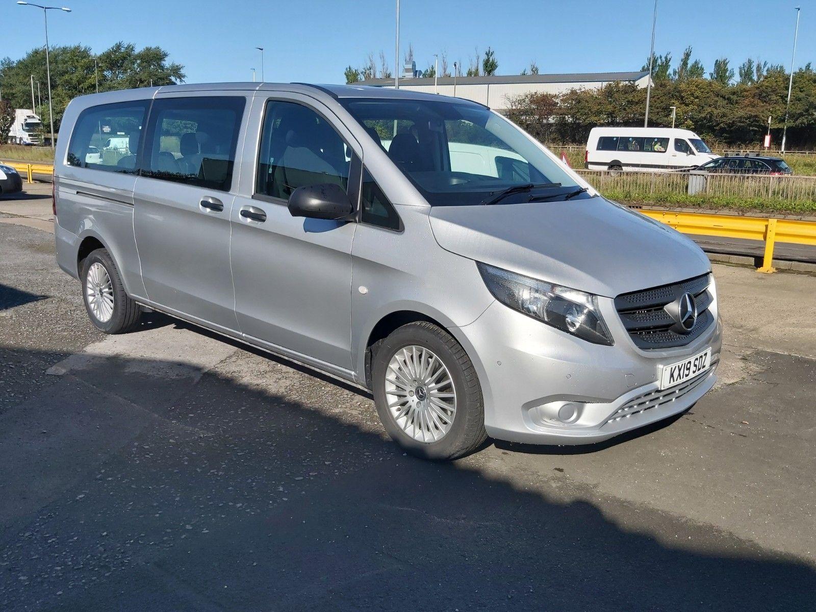 2019 Mercedes-Benz Vito 119 Cdi Select 8-Seater 7G-Tronic (KX19SDZ)