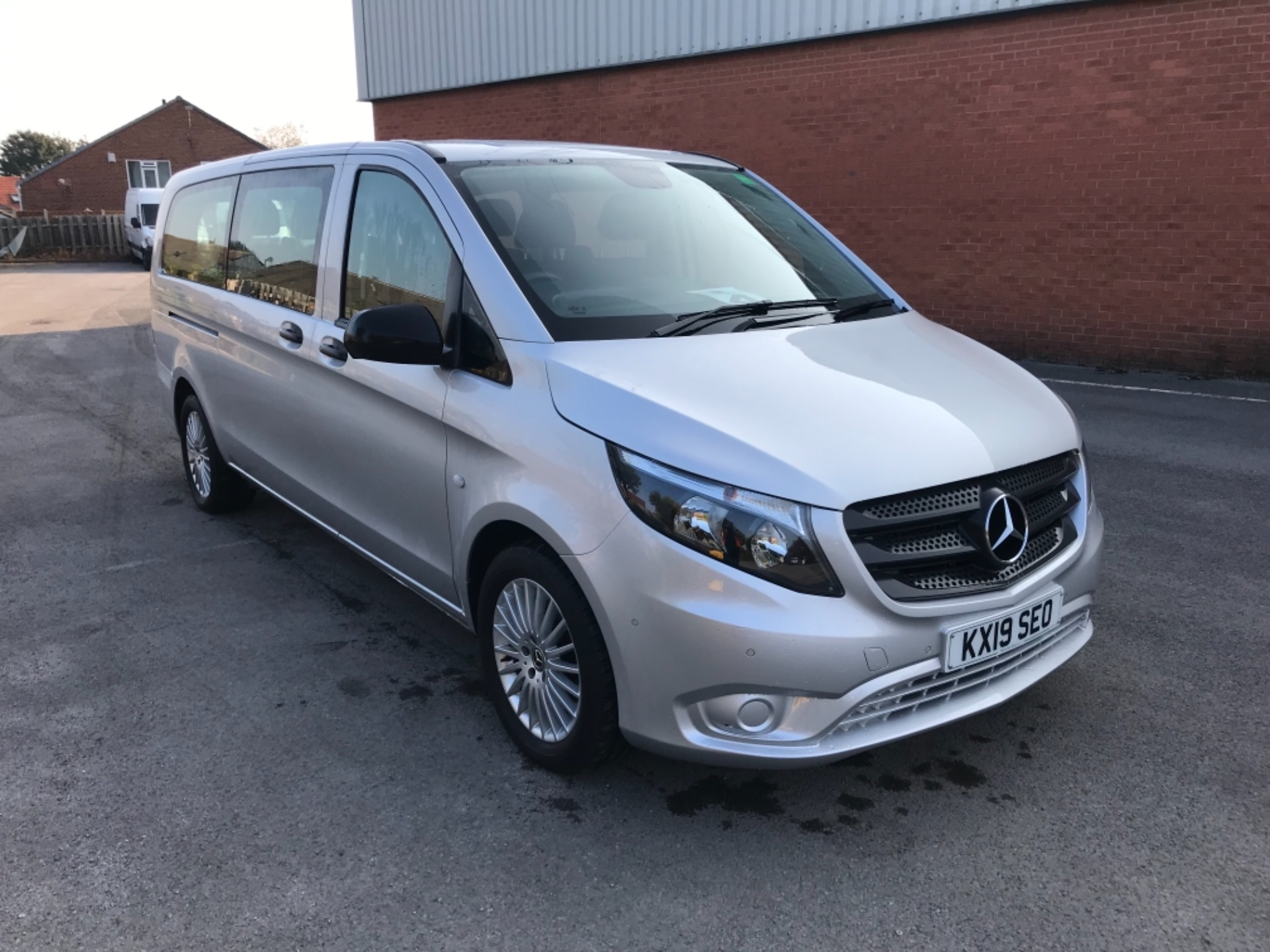 2019 Mercedes-Benz Vito 119 Cdi Select 8-Seater 7G-Tronic (KX19SEO)