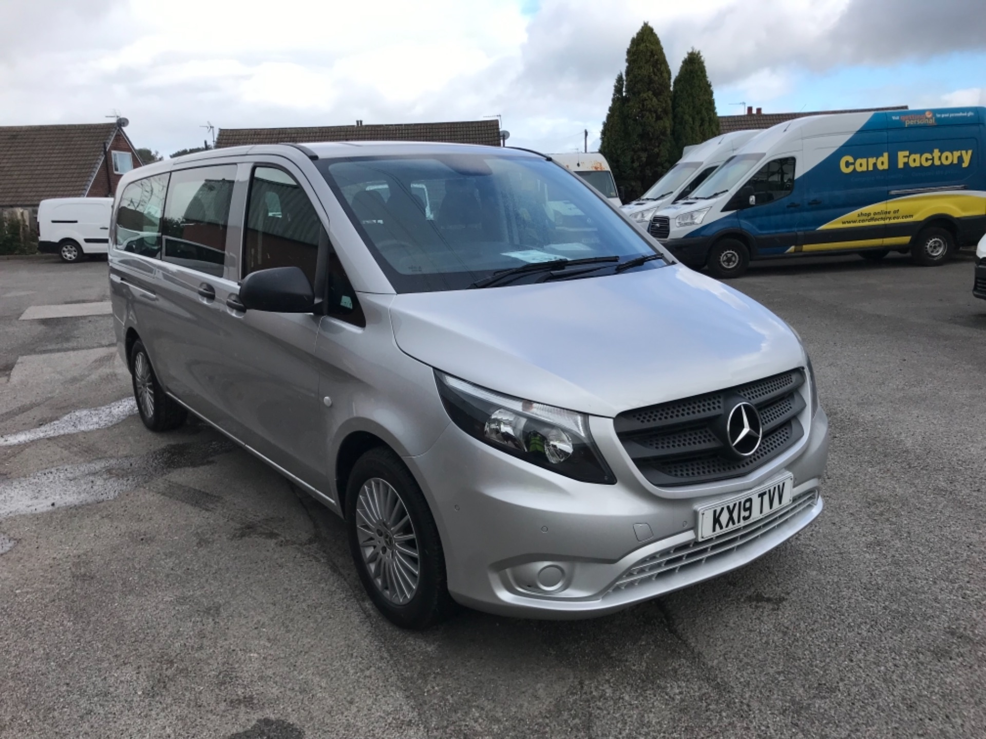 2019 Mercedes-Benz Vito 119 Bluetec Tourer Select 9 Seater (KX19TVV)