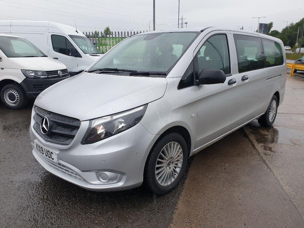 2019 Mercedes-Benz Vito 119 CDI BLUETEC TOURER SELECT AUTO EURO 6 (KX19UOC) Image 3