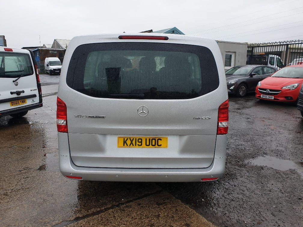 2019 Mercedes-Benz Vito 119 CDI BLUETEC TOURER SELECT AUTO EURO 6 (KX19UOC) Image 9