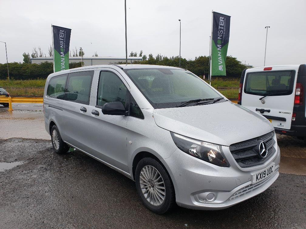 2019 Mercedes-Benz Vito 119 CDI BLUETEC TOURER SELECT AUTO EURO 6 (KX19UOC)