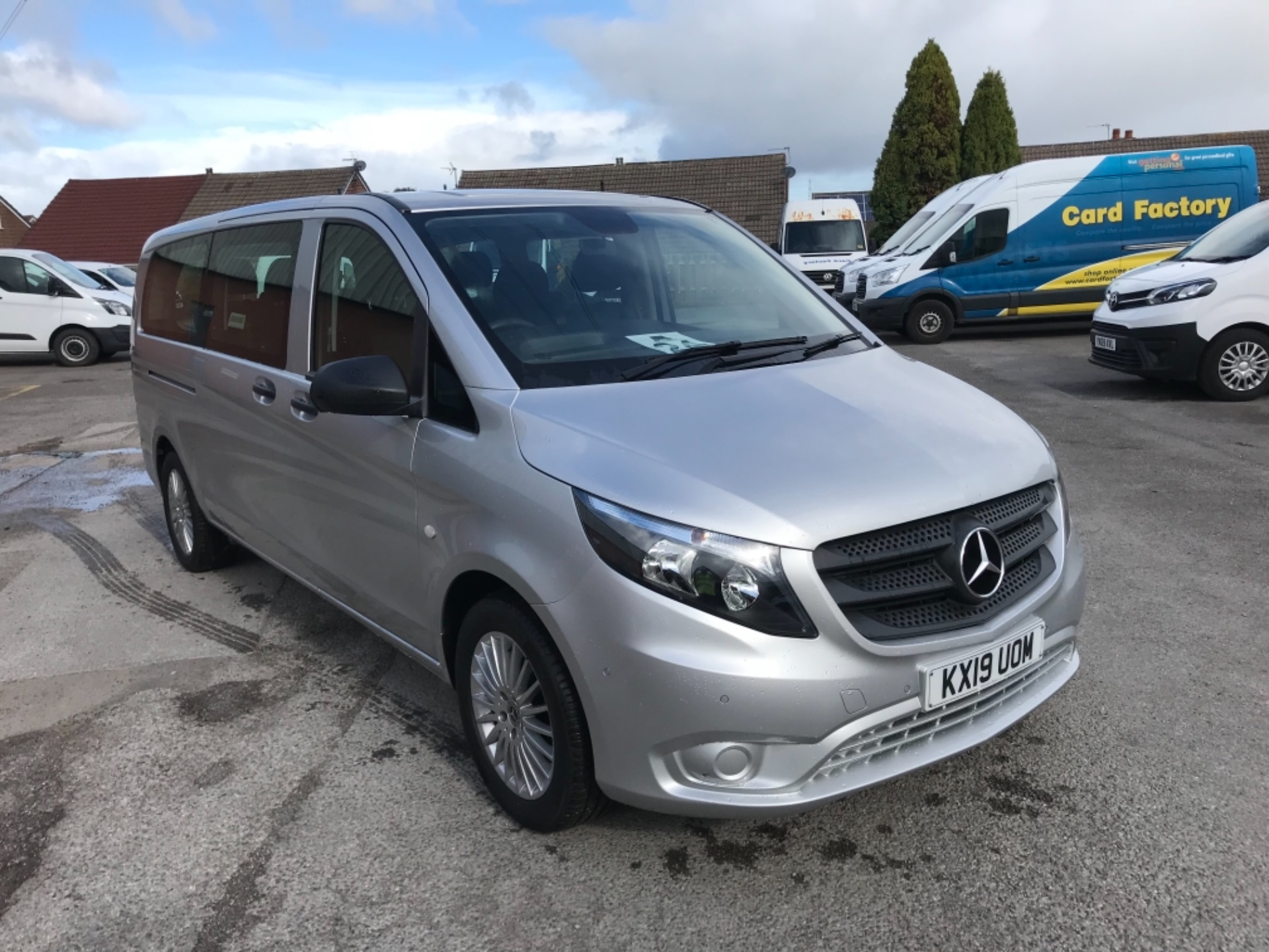 2019 Mercedes-Benz Vito 119 Bluetec Tourer Select (KX19UOM)
