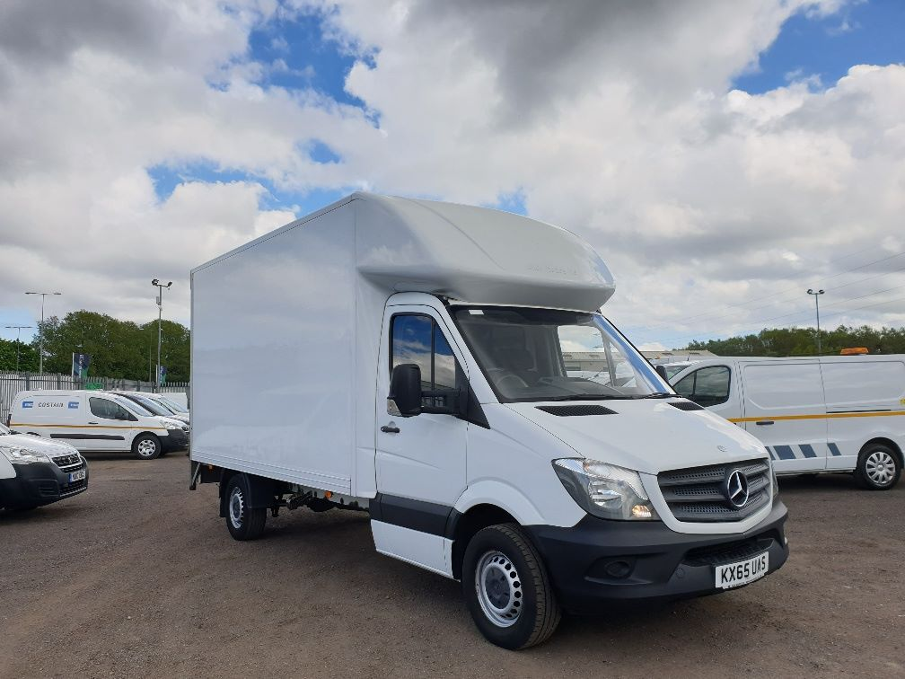 2015 Mercedes-Benz Sprinter 313 LWB LONG LUTON EURO 5 (KX65UAS)