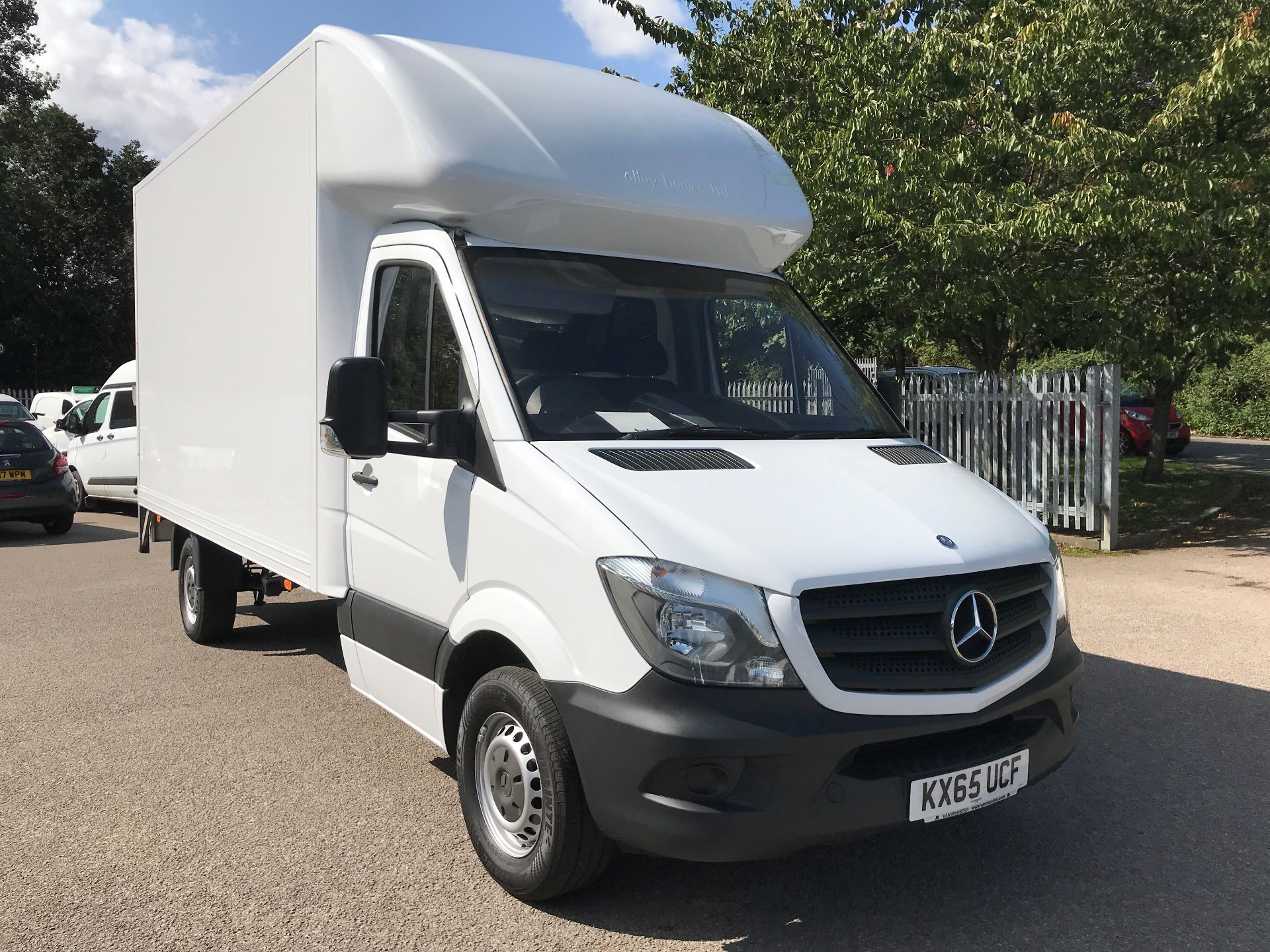 2015 Mercedes-Benz Sprinter 313 LWB LONG LUTON EURO 5 (KX65UCF)