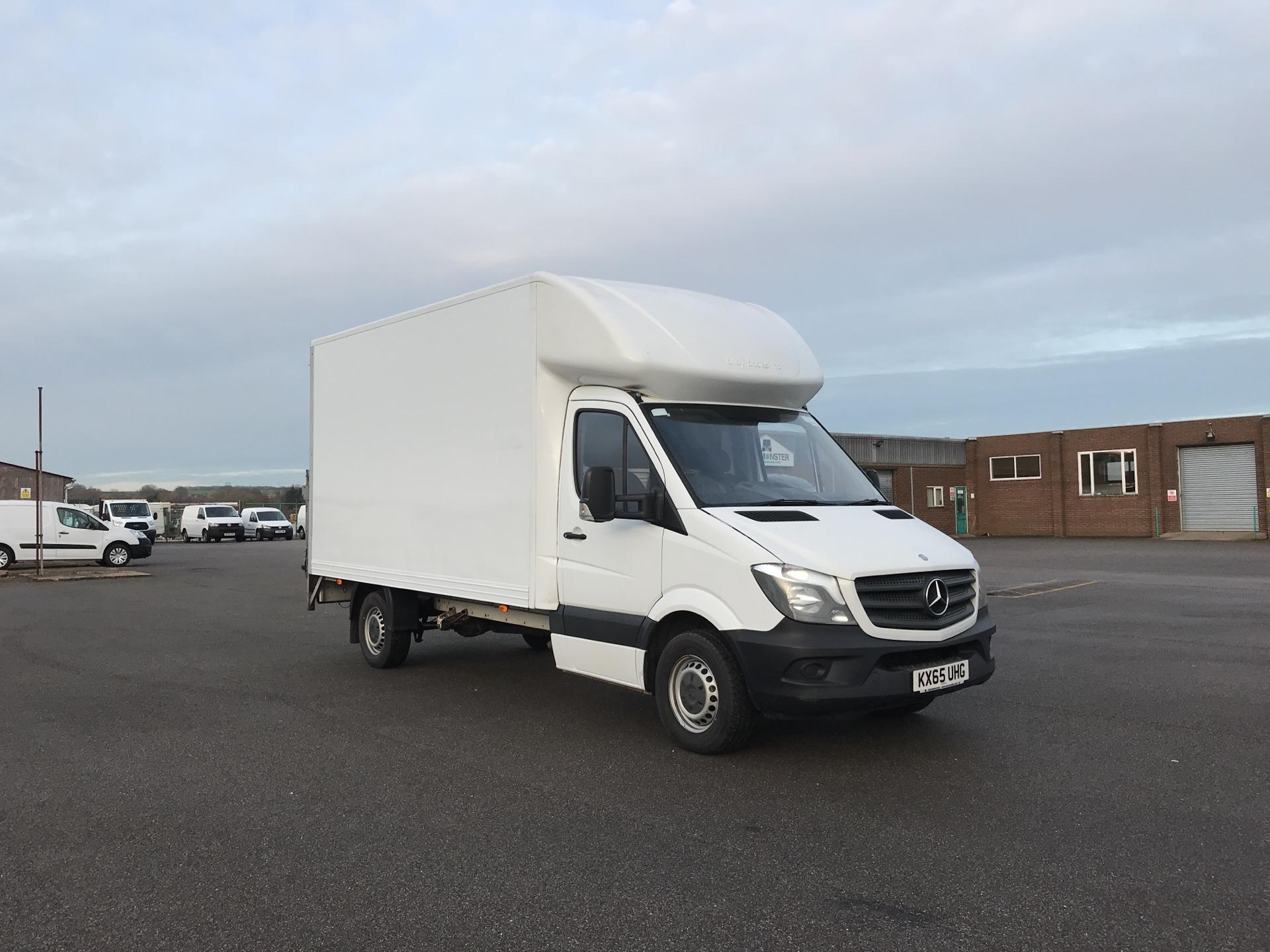 2015 Mercedes-Benz Sprinter 313 LWB LONG LUTON WITH TAIL LIFT EURO 5 (KX65UHG)
