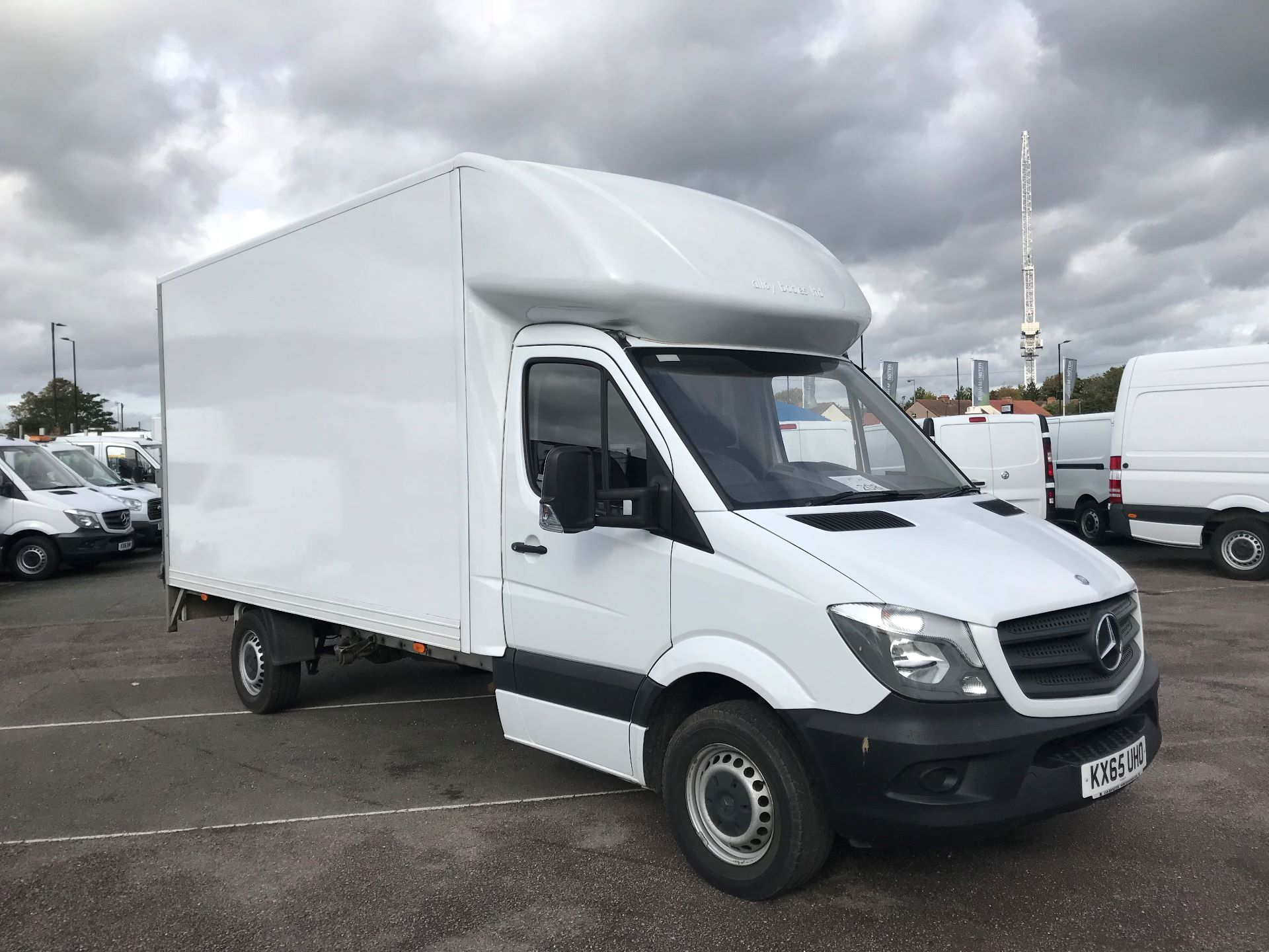 2015 Mercedes-Benz Sprinter  313 LWB LONG LUTON EURO 5 (KX65UHO)