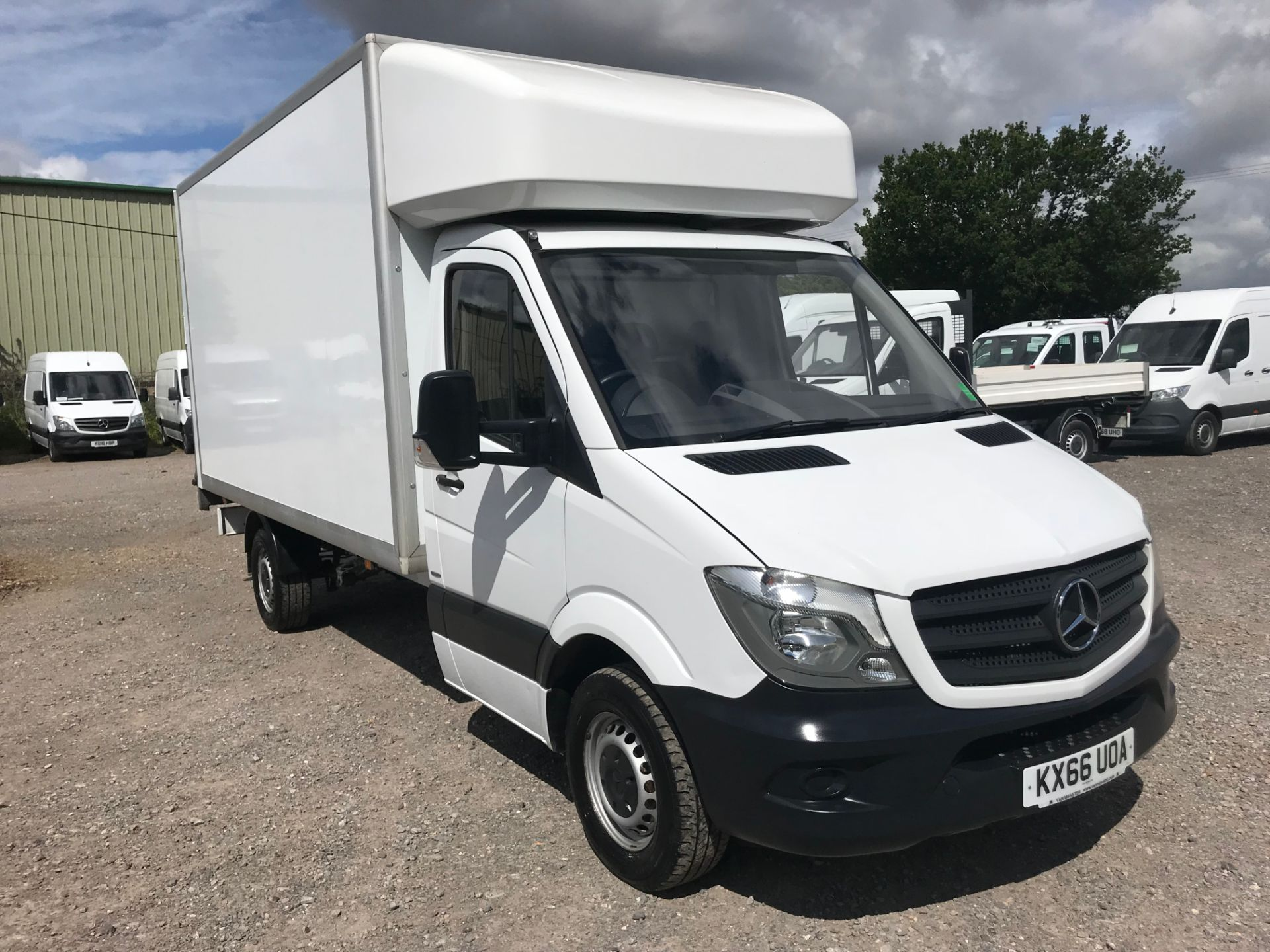 2016 Mercedes-Benz Sprinter 314 LWB LUTON EURO 6 with Tail Lift (KX66UOA)