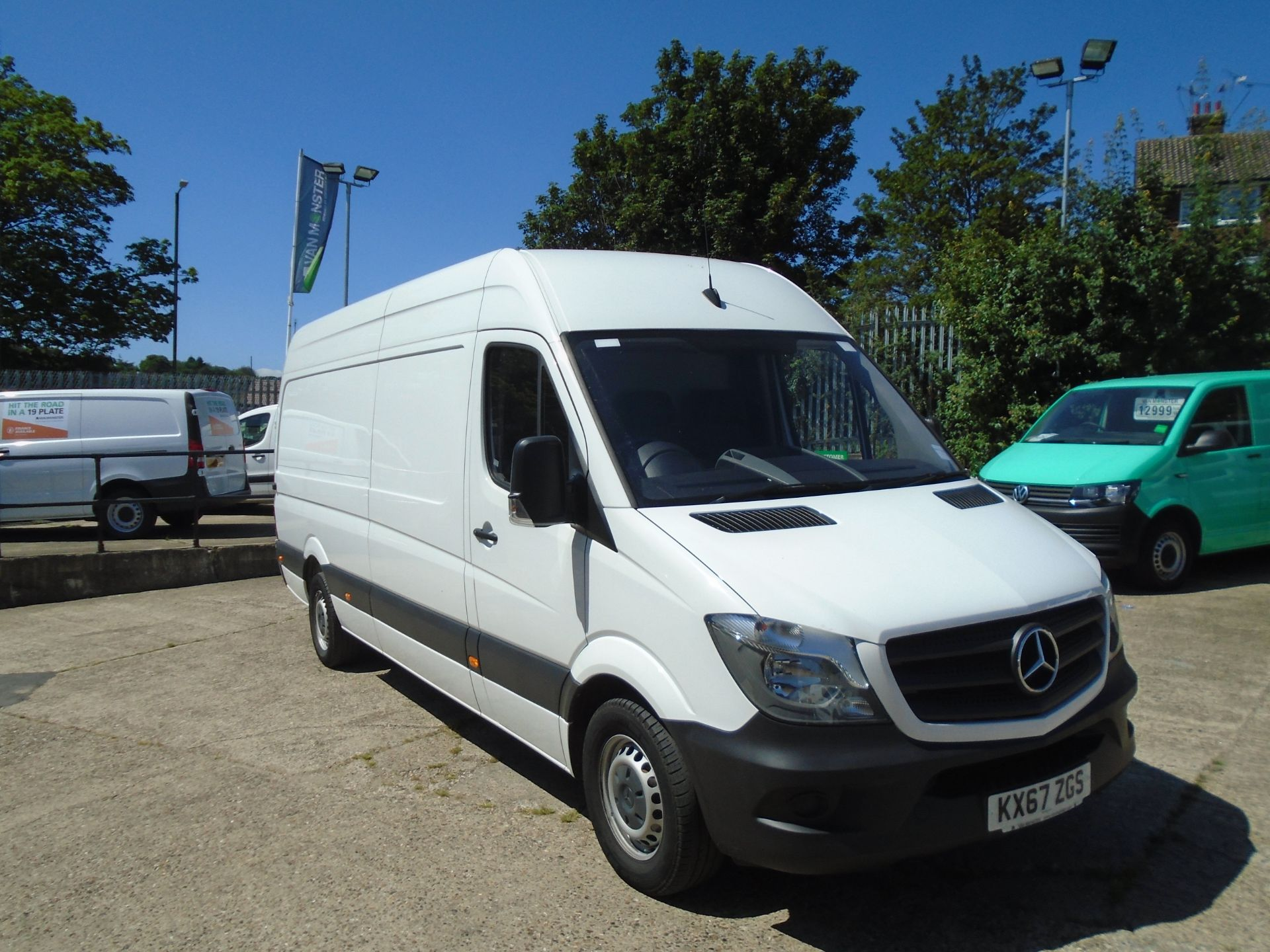 2017 Mercedes-Benz Sprinter 3.5T High Roof Van (KX67ZGS)