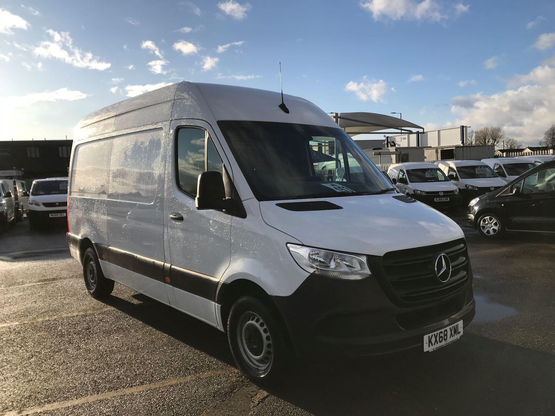 2018 Mercedes-Benz Sprinter  314 MWB H/R VAN EURO 6 (KX68XML)