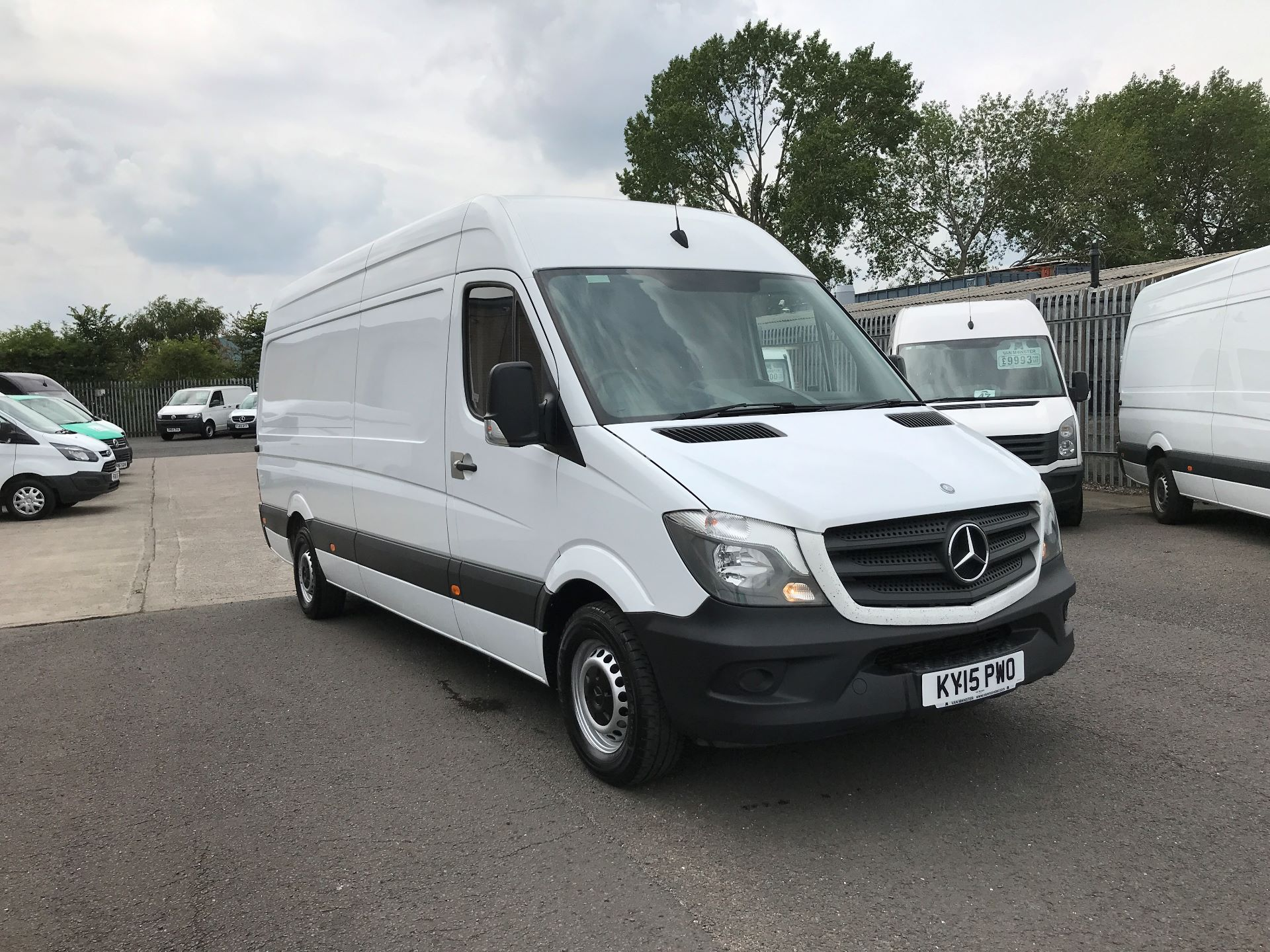 2015 Mercedes-Benz Sprinter 313CDI LWB HIGH ROOF 130PS EURO 5 (KY15PWO)