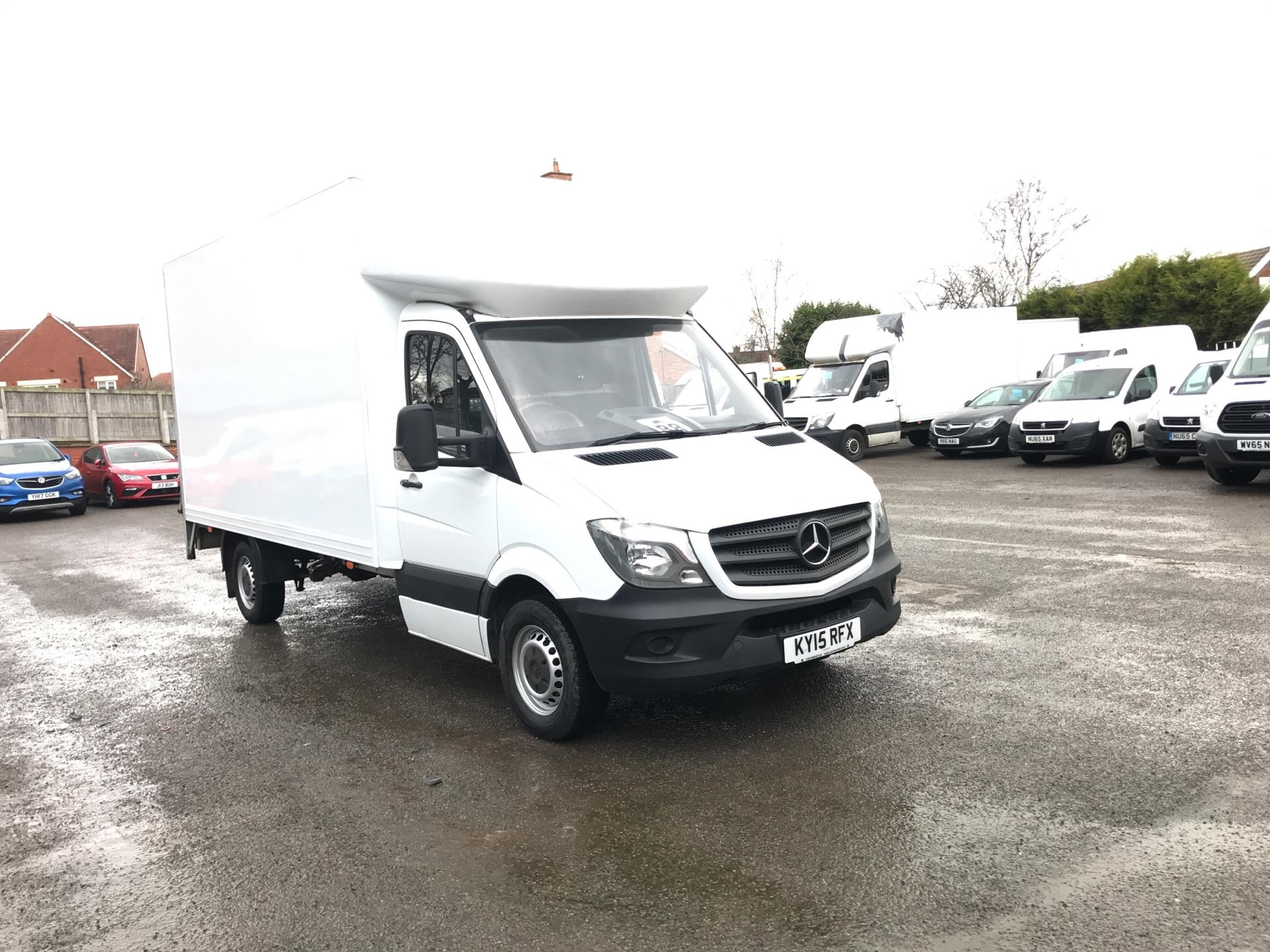 2015 Mercedes-Benz Sprinter 313 LWB LONG LUTON EURO 5 (KY15RFX)