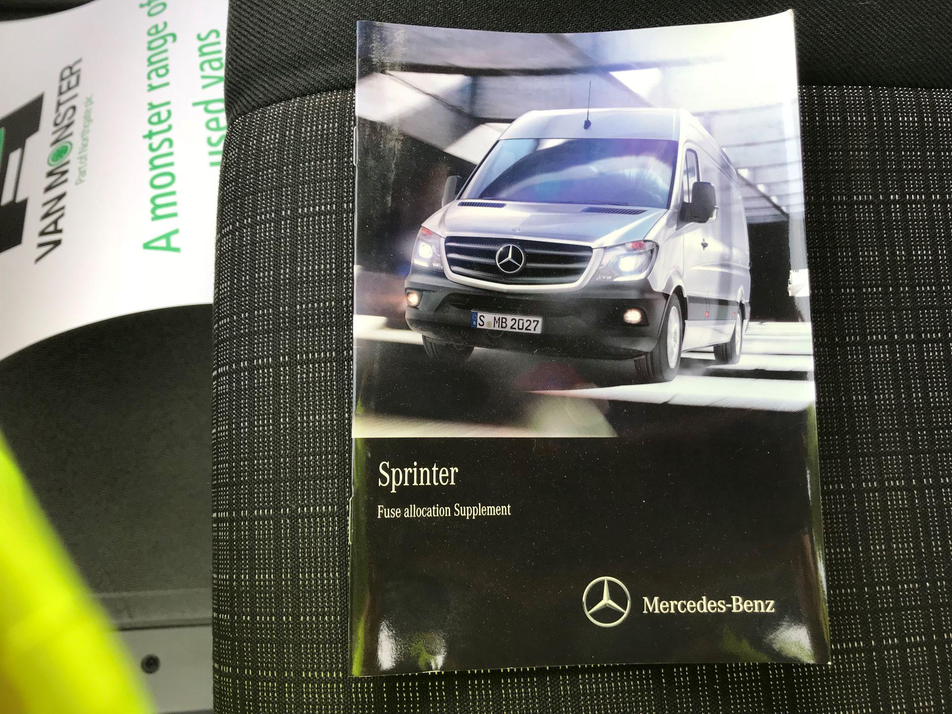 2017 Mercedes-Benz Sprinter  314 LWB H/R VAN EURO 6 (KY17GYD) Image 36