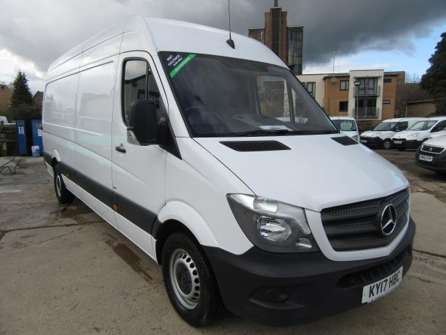 2017 Mercedes-Benz Sprinter  314 LWB H/R BLUE EFFICIENCY VAN EURO 6 (KY17HBC)