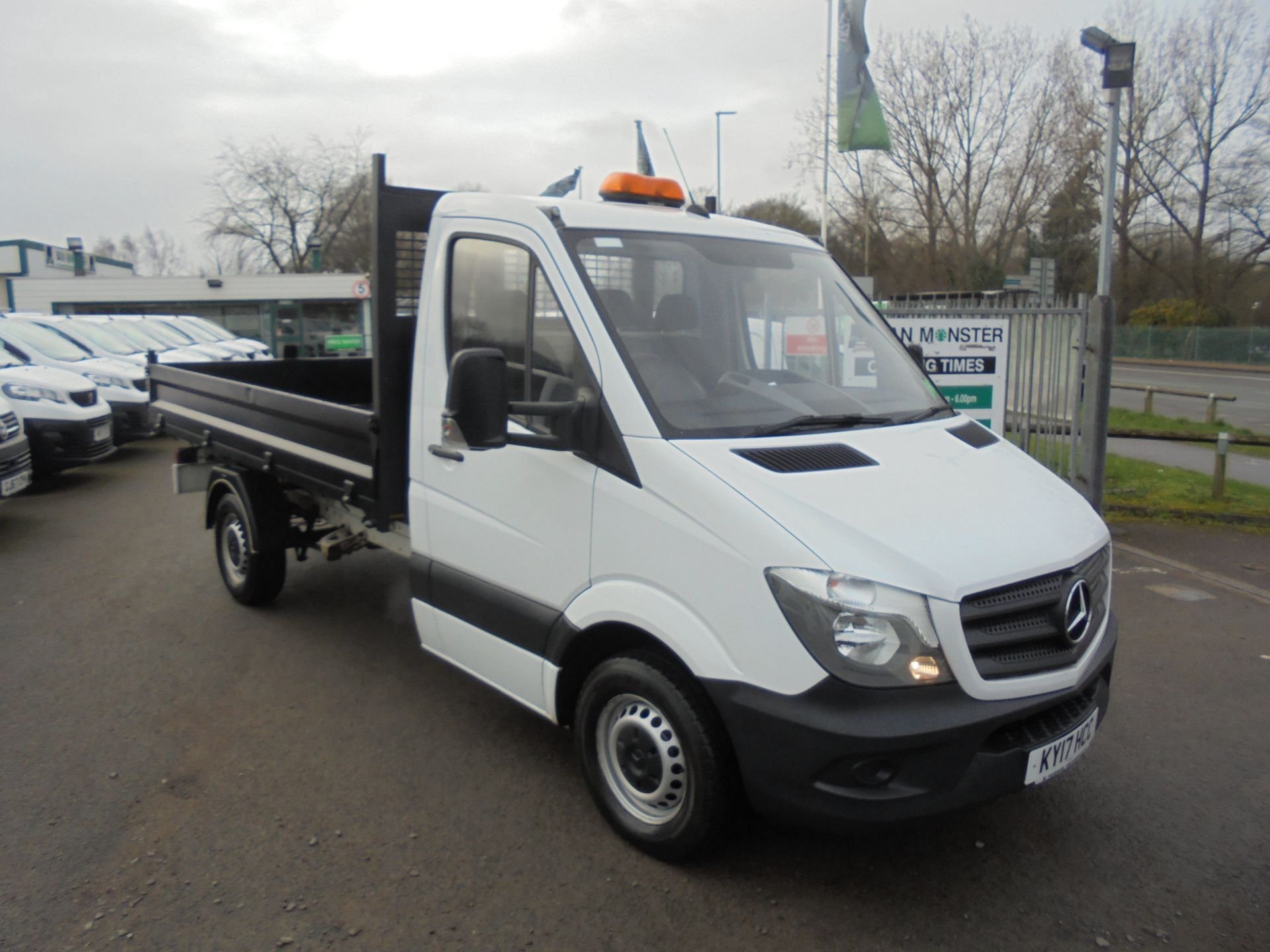2017 Mercedes-Benz Sprinter 314 CDI MWB TIPPER 140PS S/CAB (KY17HCC)