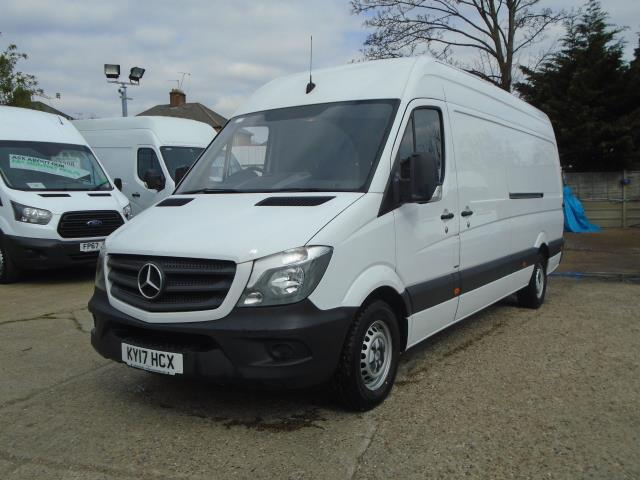 2017 Mercedes-Benz Sprinter  314 LWB 3.5T HIGH ROOF VAN EURO 6  (KY17HCX) Thumbnail 3
