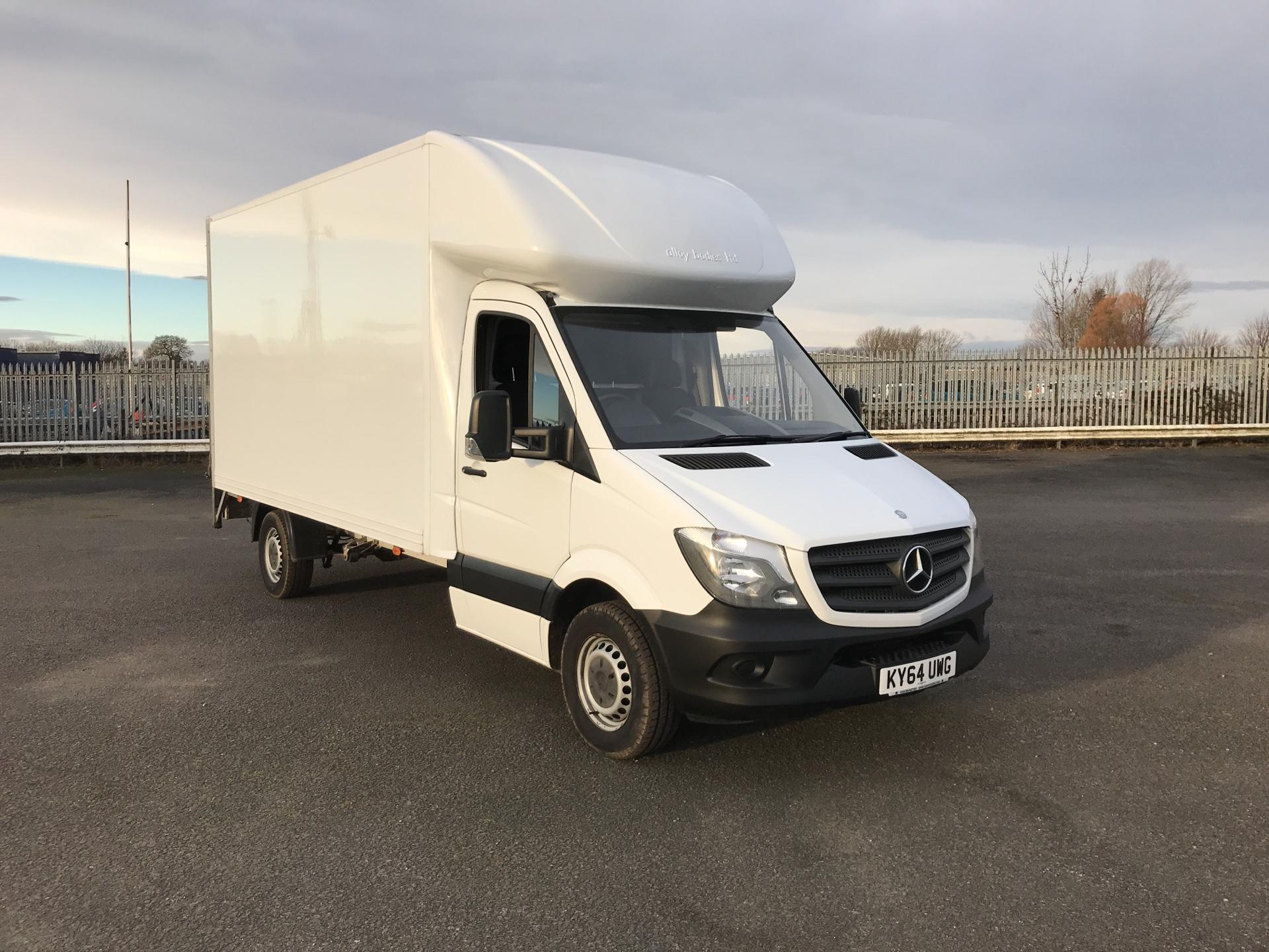 2014 Mercedes-Benz Sprinter 313 LWB LUTON WITH TAIL LIFT EURO 5 *VALUE RANGE VEHICLE CONDITION REFLECTED IN PRICE* (KY64UWG)