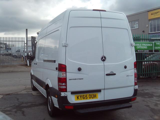 2015 Mercedes-Benz Sprinter 313cdi mwb High Roof 130ps (KY65OUH) Image 4
