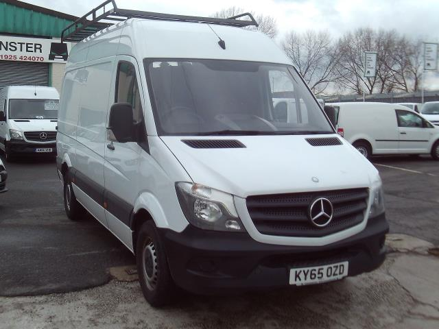 2015 Mercedes-Benz Sprinter 313cdi mwb High Roof 130ps (KY65OZD)