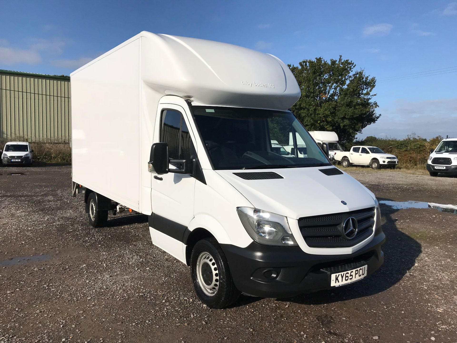2015 Mercedes-Benz Sprinter 313 LWB LONG LUTON EURO 5 (KY65PCU)