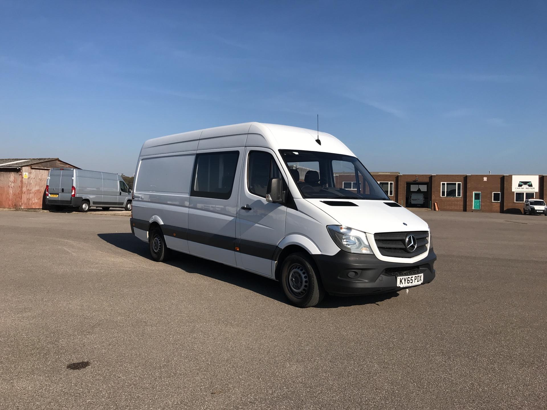 2015 Mercedes-Benz Sprinter 313 CDI LWB HIGH ROOF CREW VAN EURO 4/5. SIX SEATER (KY65PDX)