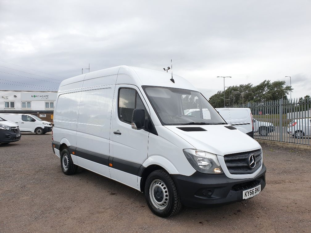 2017 Mercedes-Benz Sprinter 3.5T High Roof Van (KY66BNU)