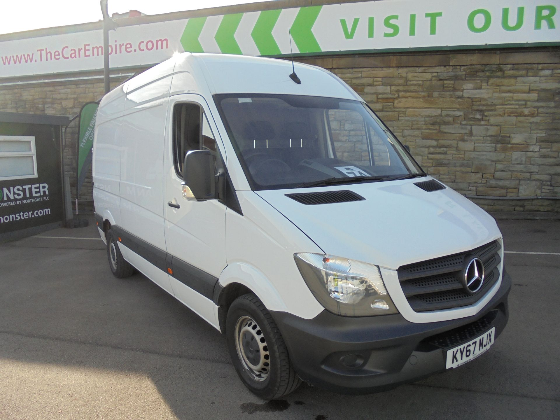 2018 Mercedes-Benz Sprinter 3.5T High Roof Van MWB (KY67MJX)