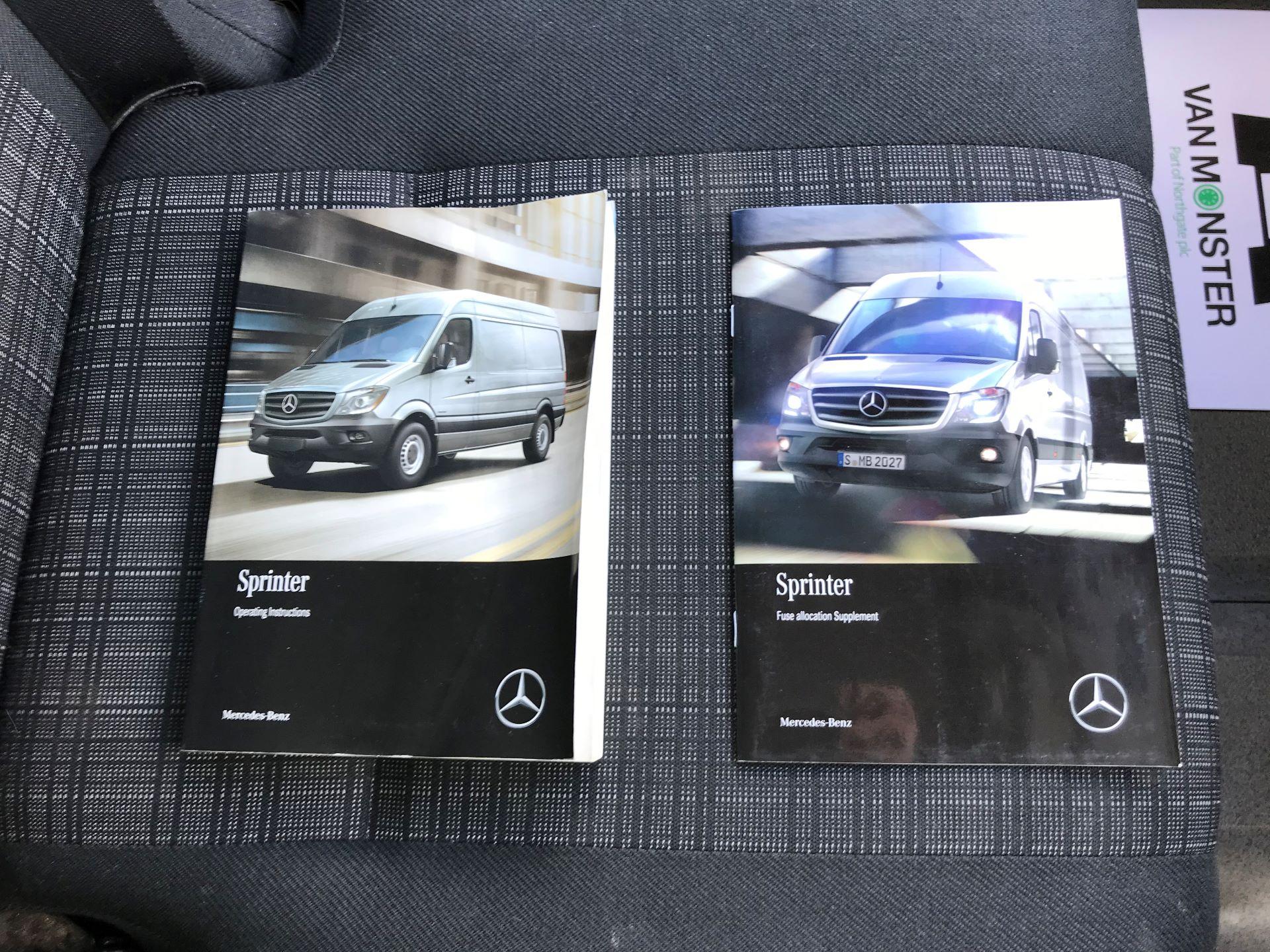 2017 Mercedes-Benz Sprinter  314 LWB H/R VAN EURO 6 (KY67TFX) Image 29