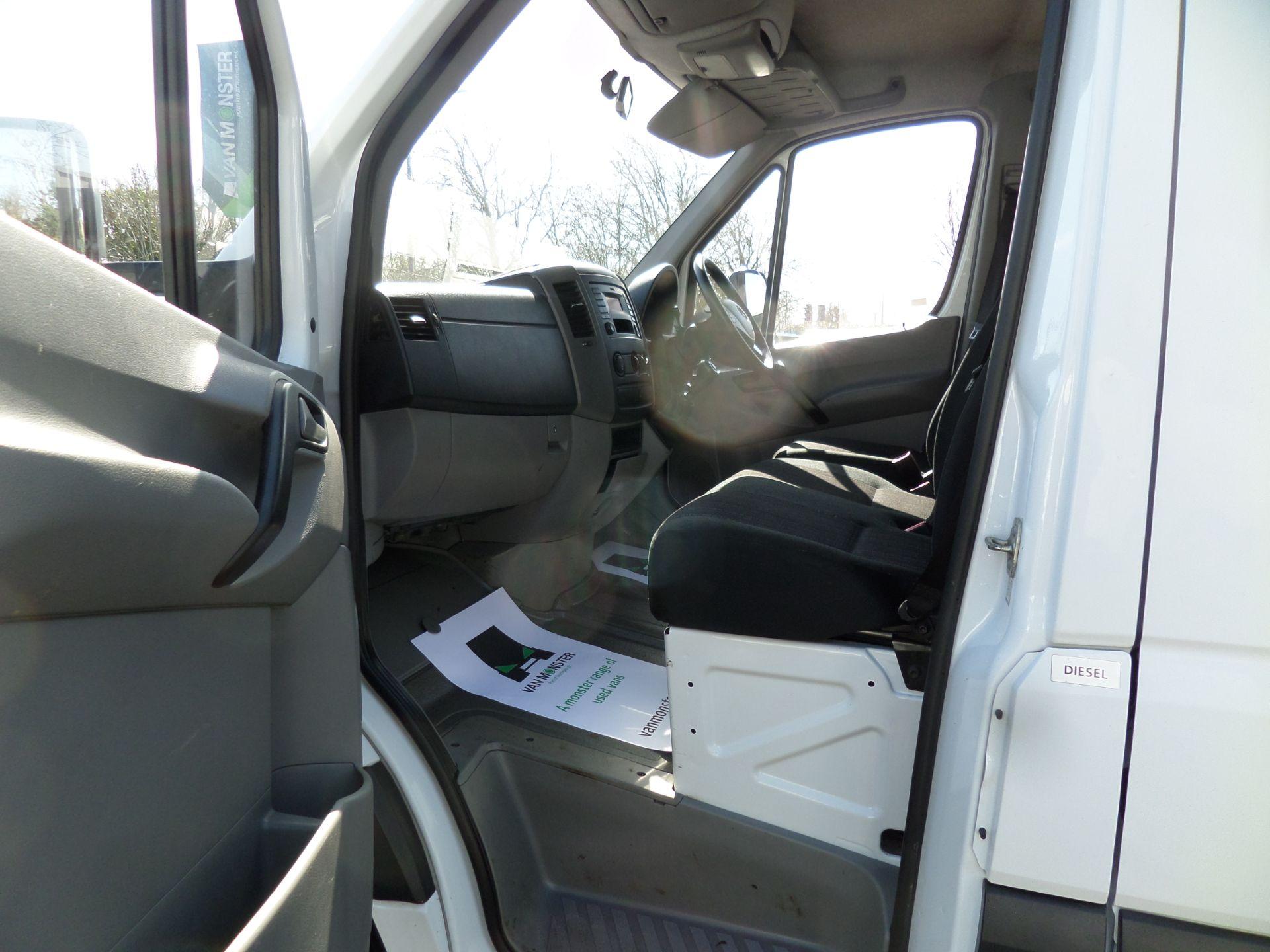 2017 Mercedes-Benz Sprinter 314 Crew Cab Tipper Euro 6 (KY67THN) Image 9