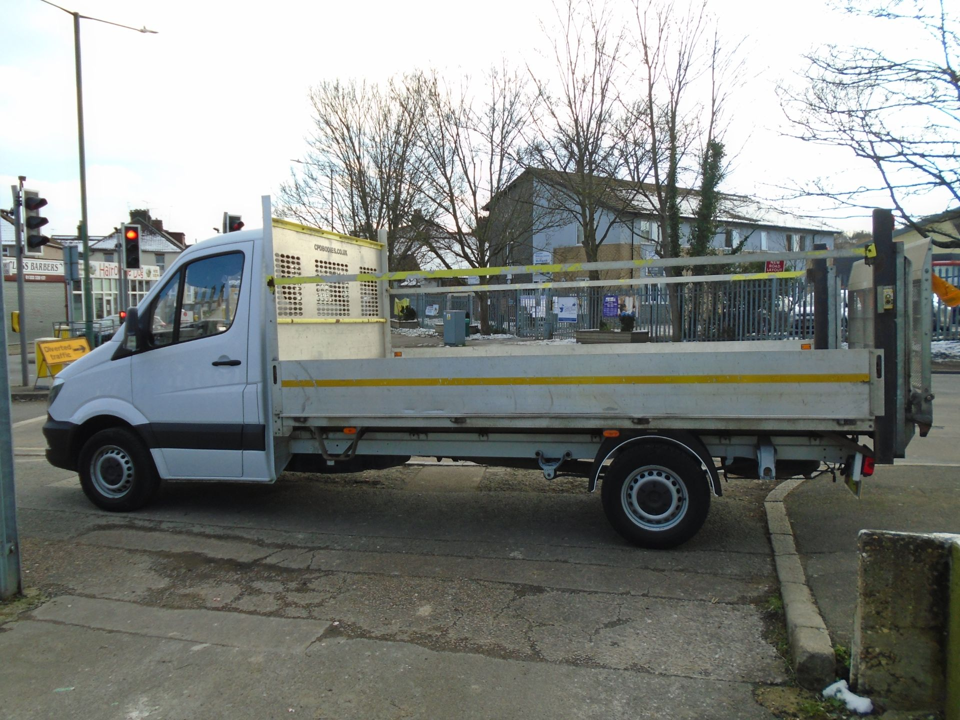 2017 Mercedes-Benz Sprinter 3.5T Chassis Cab *EURO 6* (KY67TLU) Image 7