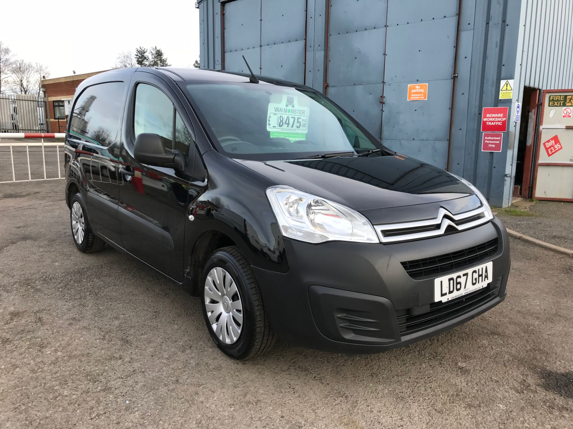 2017 Citroen Berlingo 1.6 Bluehdi 625Kg Enterprise 75Ps (LD67GHA)