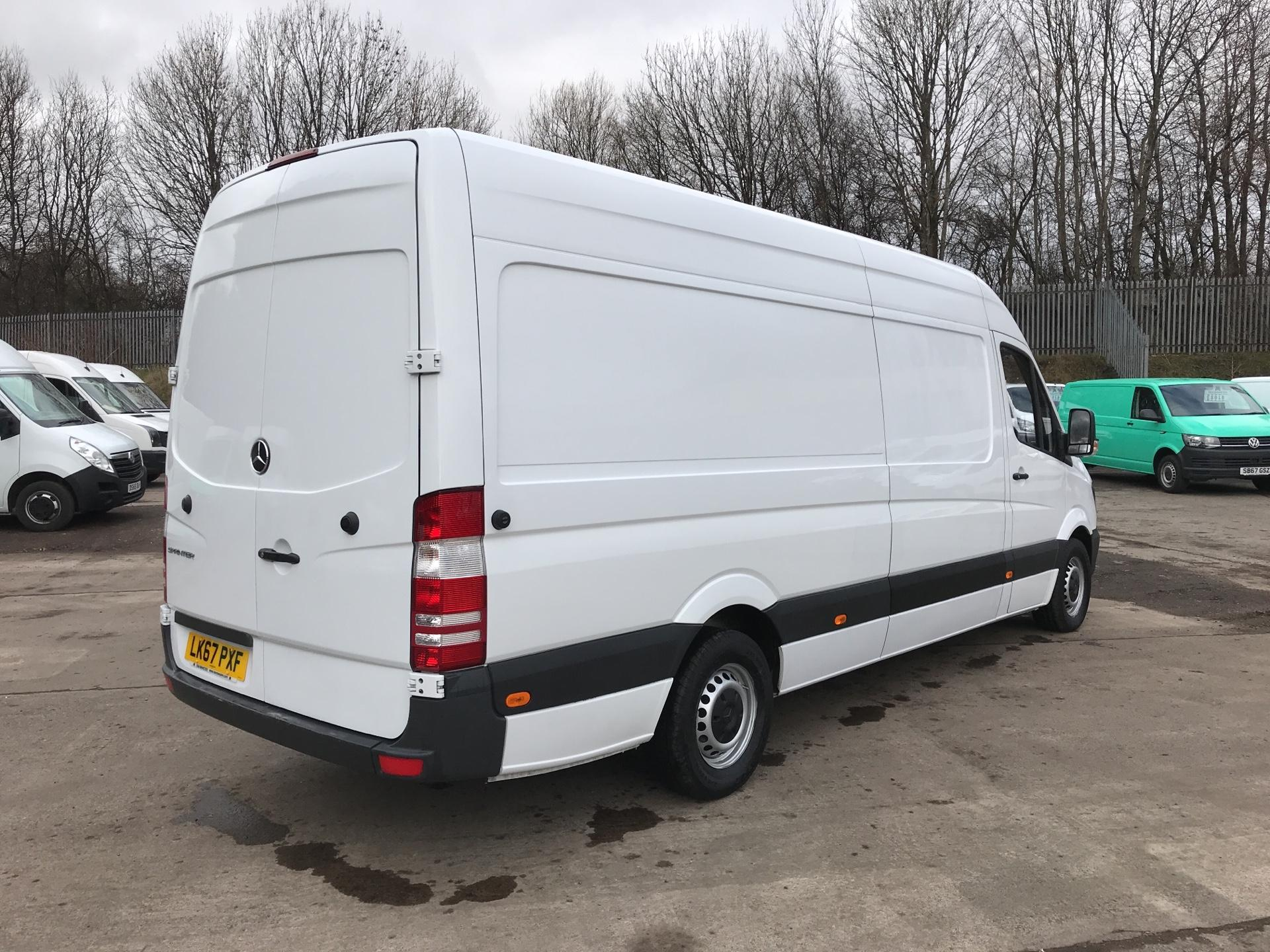 2017 Mercedes-Benz Sprinter 314 CDI LWB HIGH ROOF VAN EURO 6 (LK67PXF) Image 3