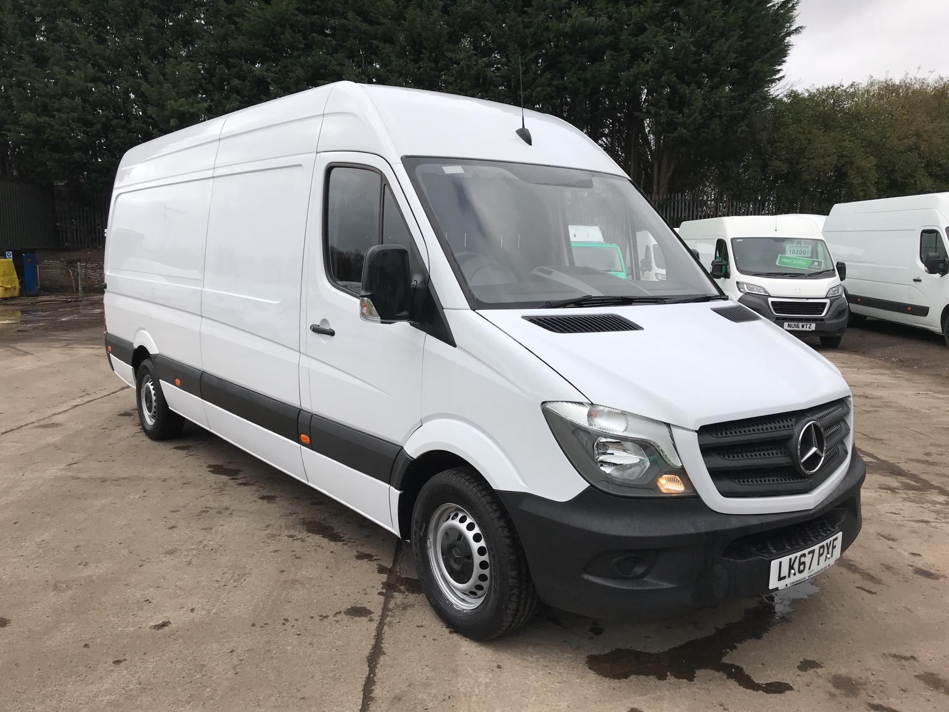 2017 Mercedes-Benz Sprinter 314 CDI LWB HIGH ROOF VAN EURO 6 (LK67PXF) Image 1