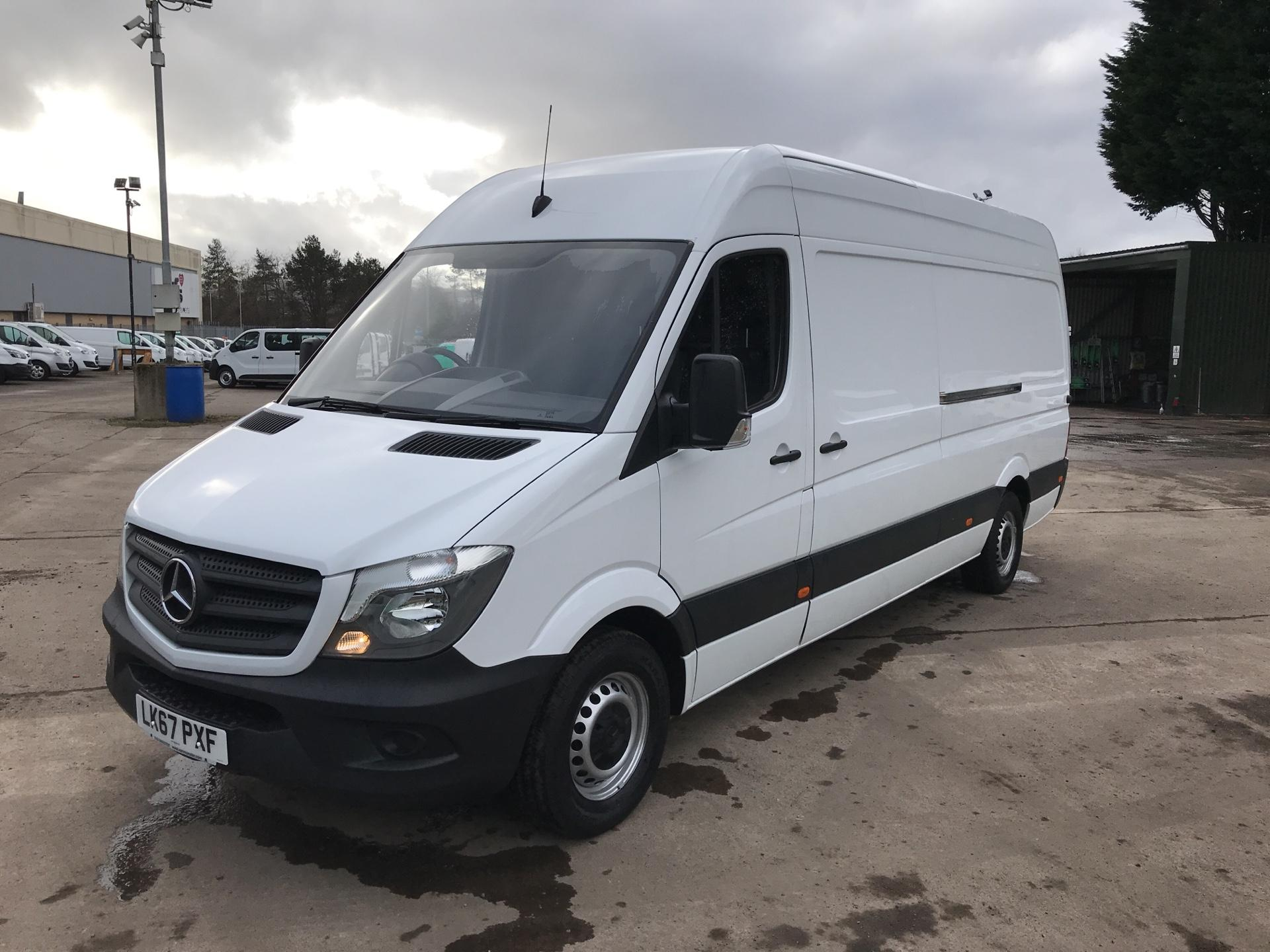 2017 Mercedes-Benz Sprinter 314 CDI LWB HIGH ROOF VAN EURO 6 (LK67PXF) Image 7