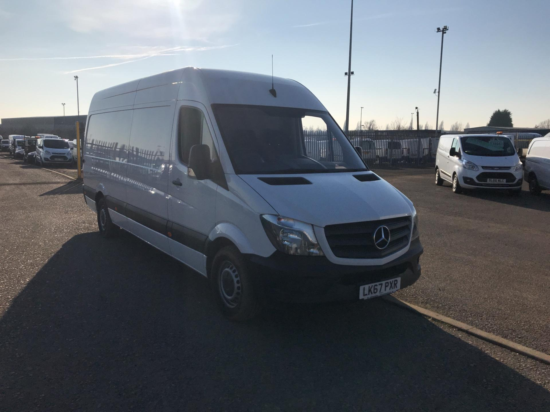 2017 Mercedes-Benz Sprinter  314 LWB 3.5T HIGH ROOF VAN EURO 6 (LK67PXR)