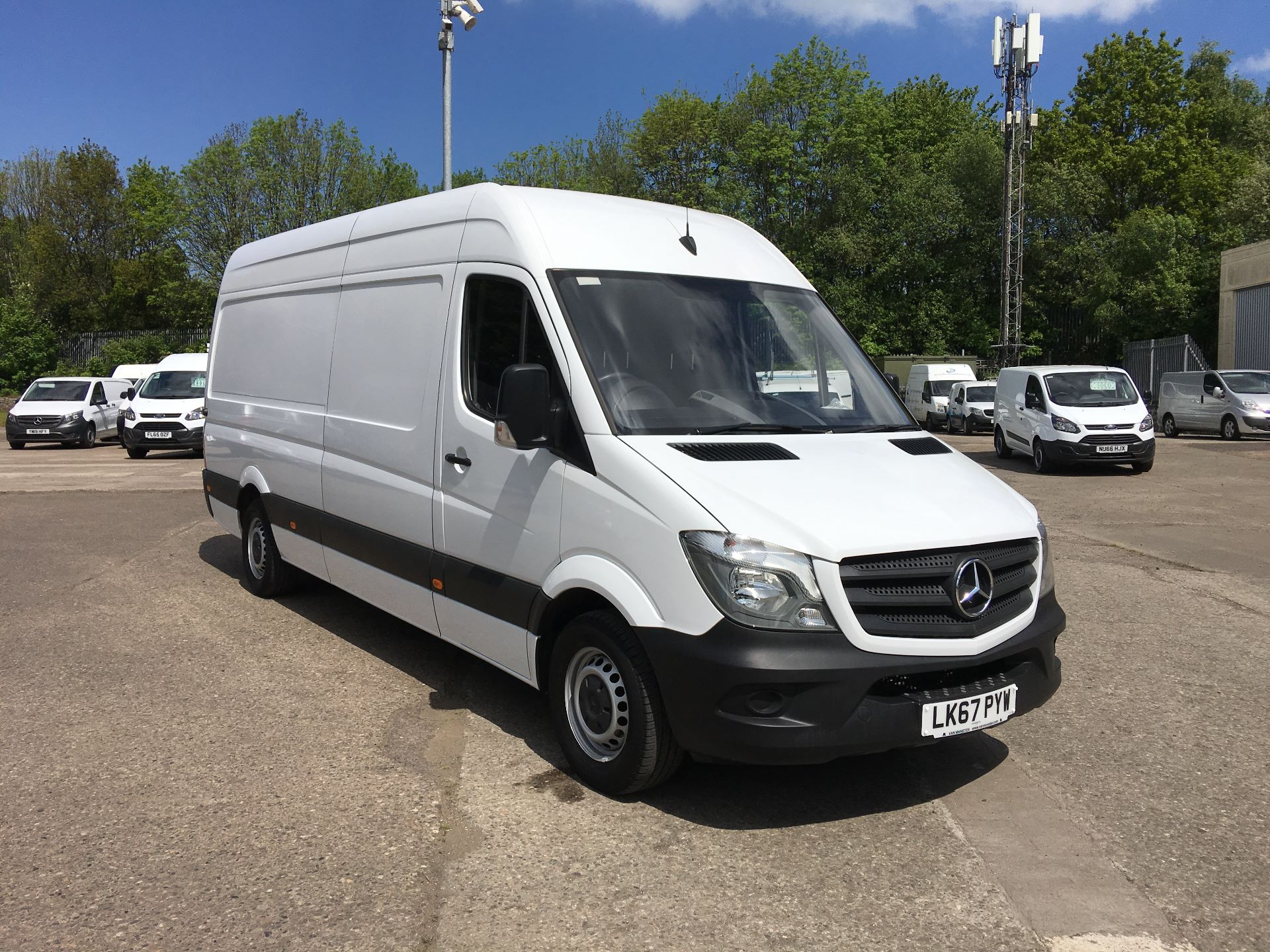 2017 Mercedes-Benz Sprinter 314 CDI LWB HIGH ROOF VAN EURO 6 (LK67PYW)